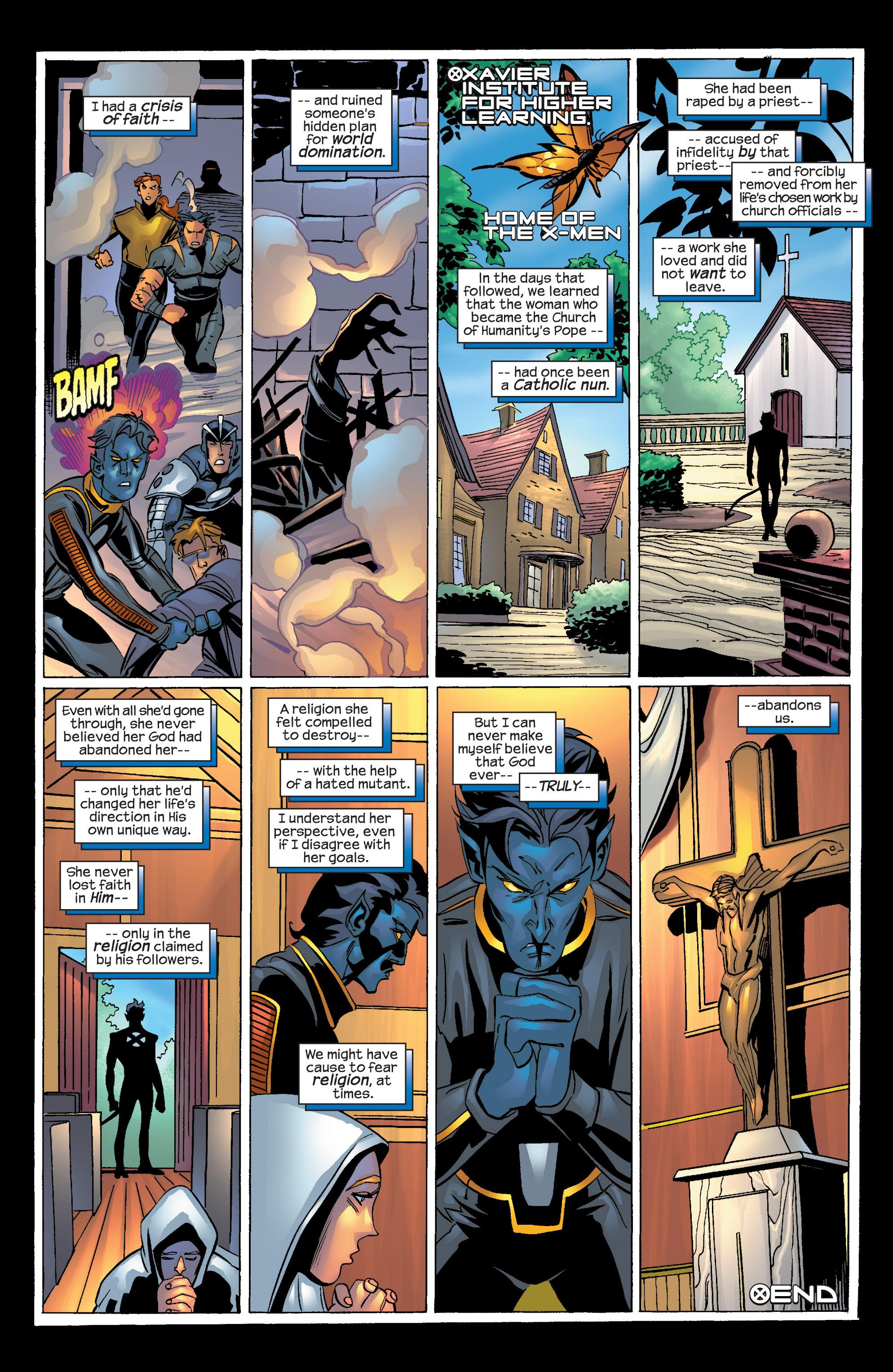 Read online Uncanny X-Men (1963) comic -  Issue #424 - 25
