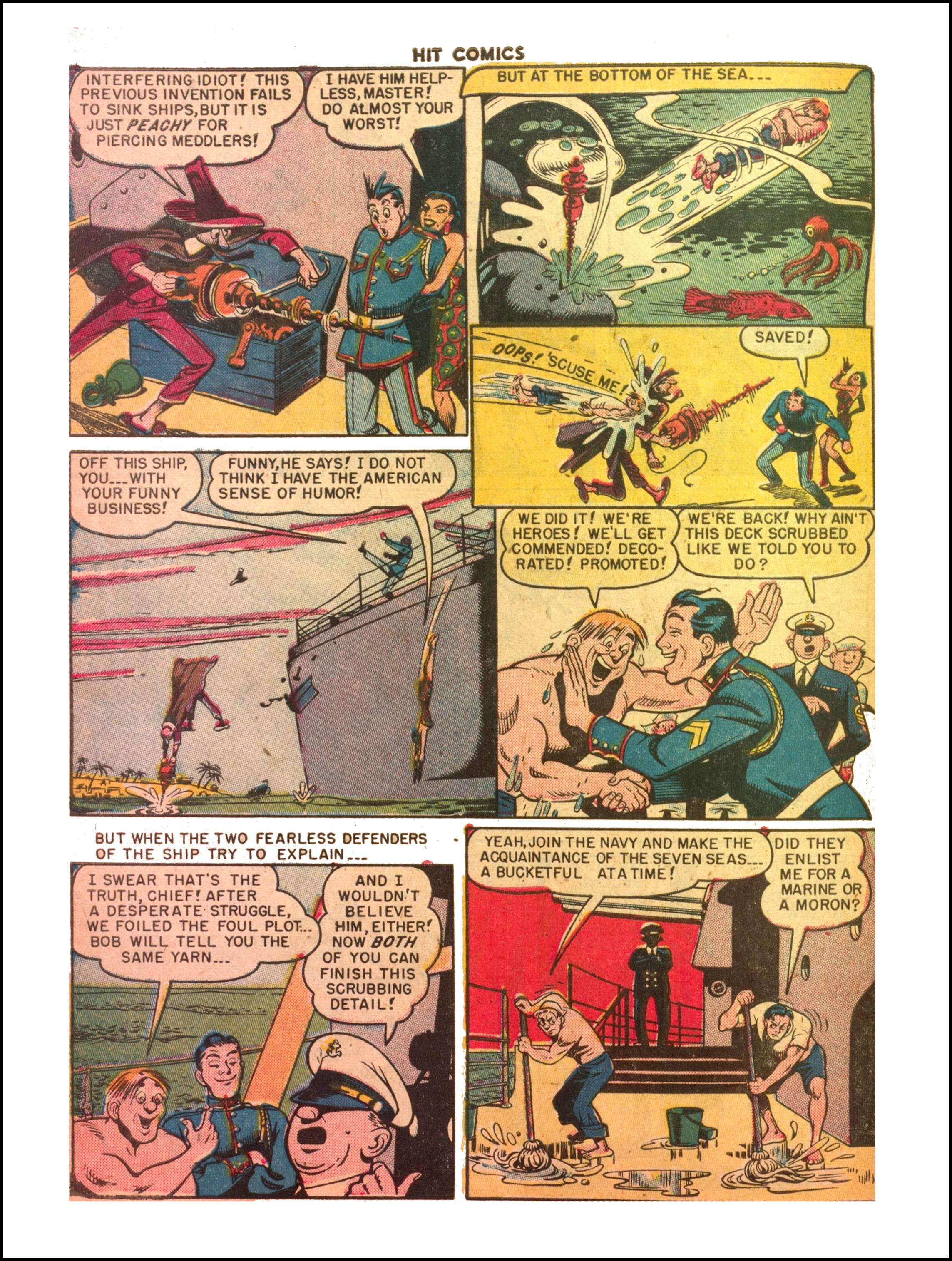 Read online Hit Comics comic -  Issue #65 - 26