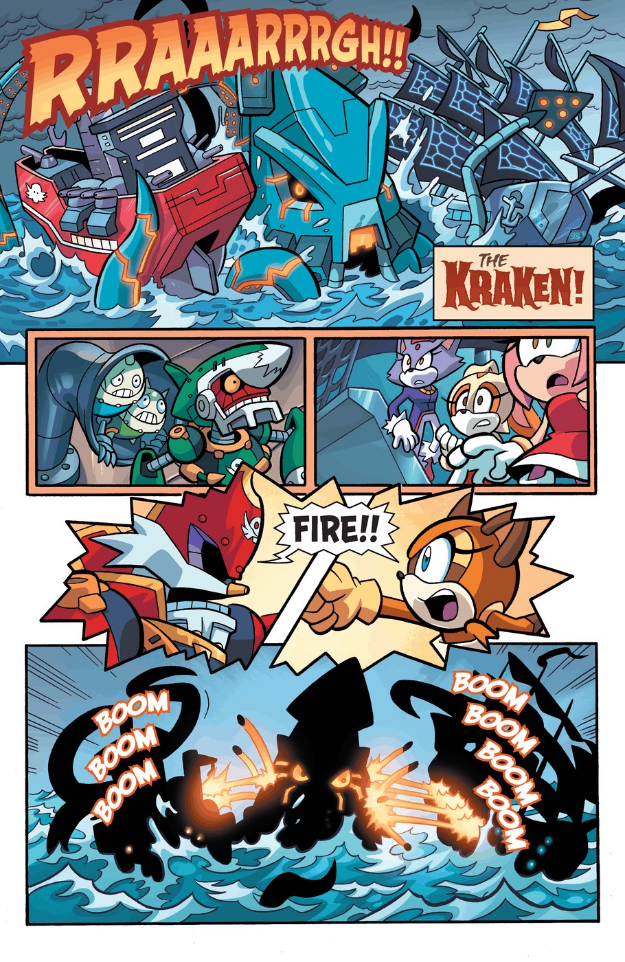 Read online Sonic Universe comic -  Issue #57 - 17