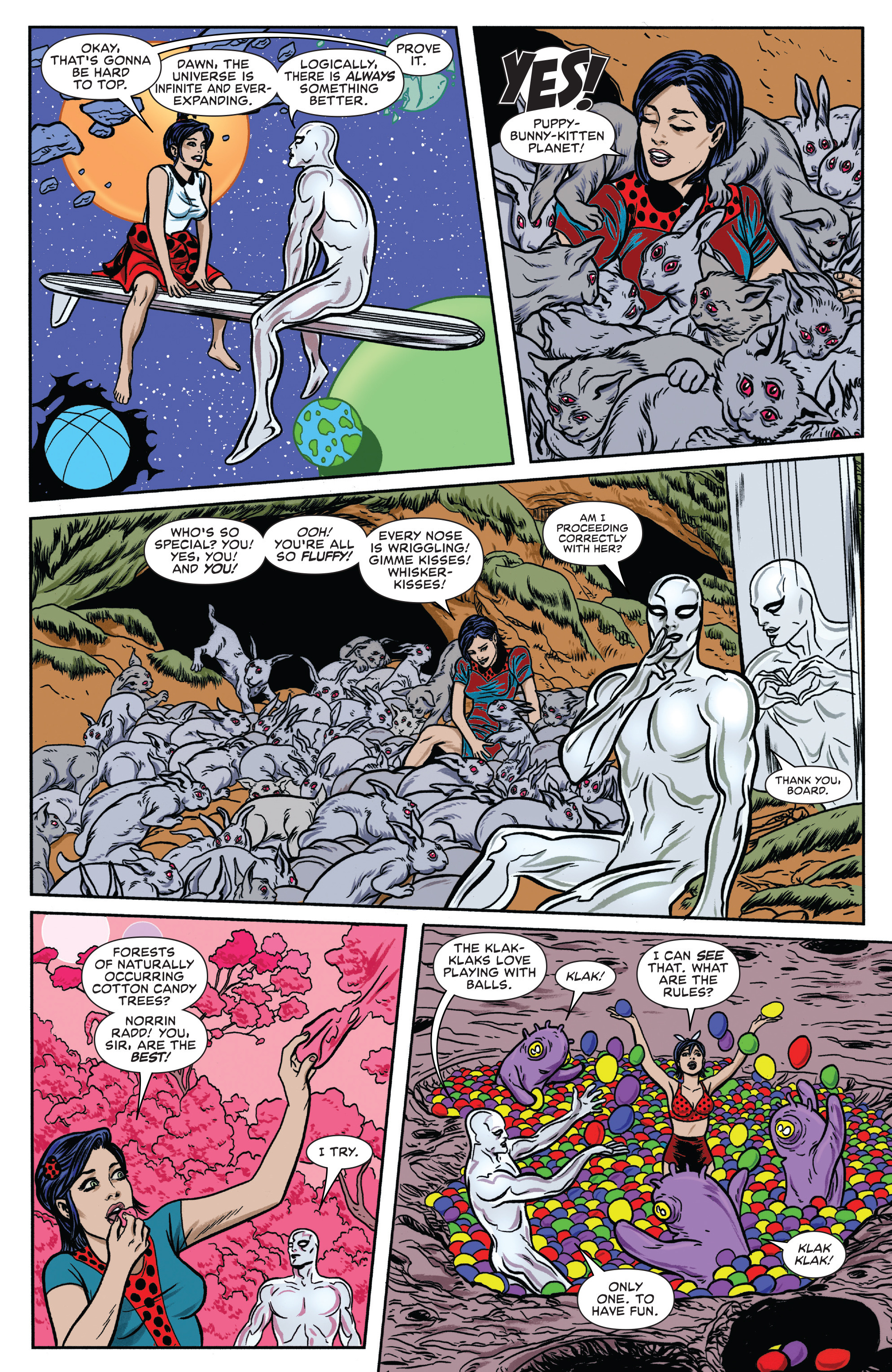 Read online Silver Surfer (2016) comic -  Issue #7 - 5