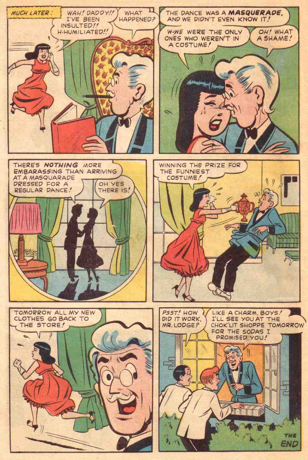 Read online Archie's Girls Betty and Veronica comic -  Issue #39 - 8