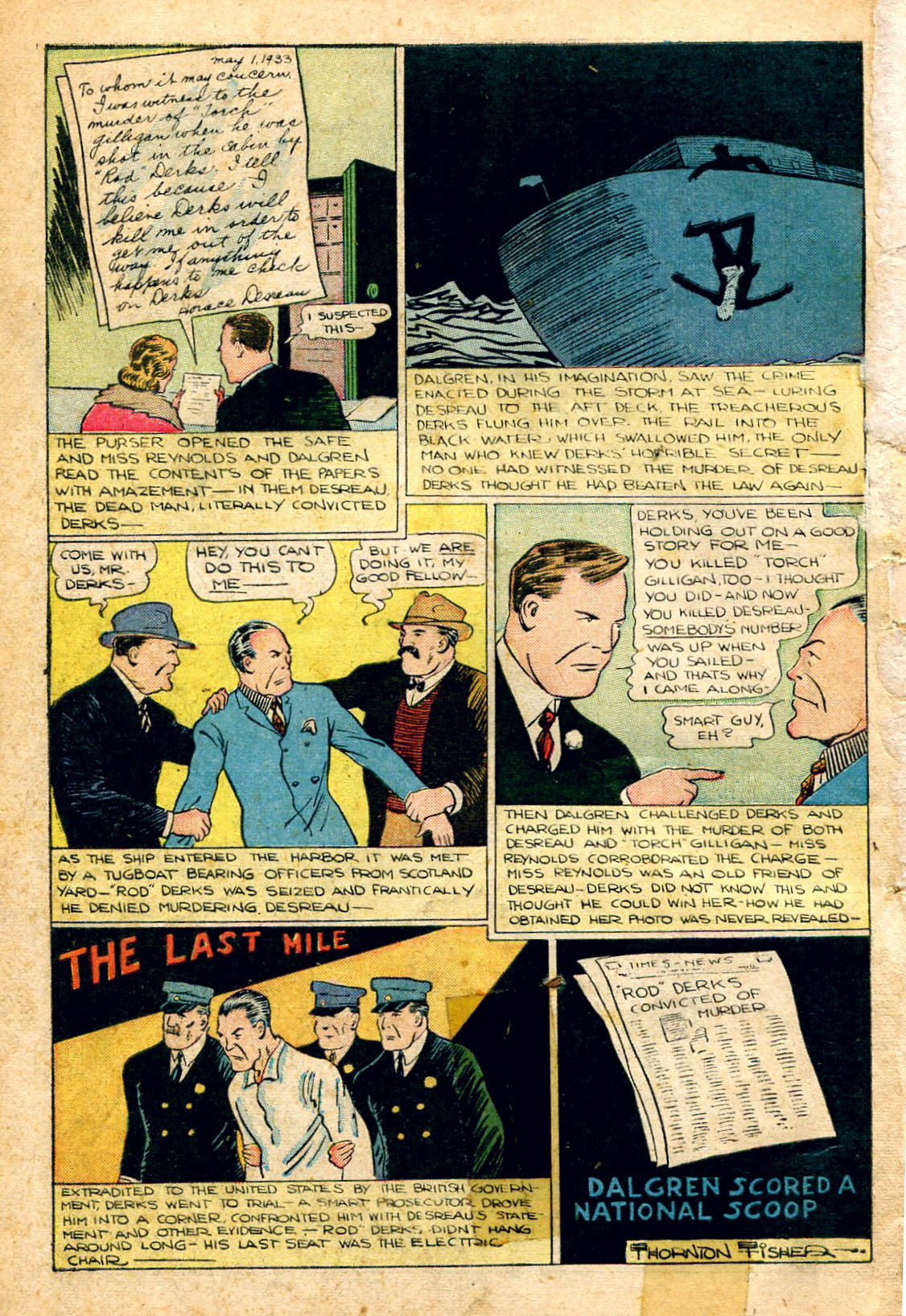 Read online Shadow Comics comic -  Issue #51 - 51