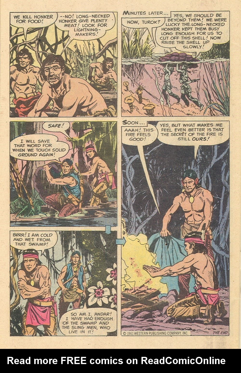 Read online Turok, Son of Stone comic -  Issue #129 - 34