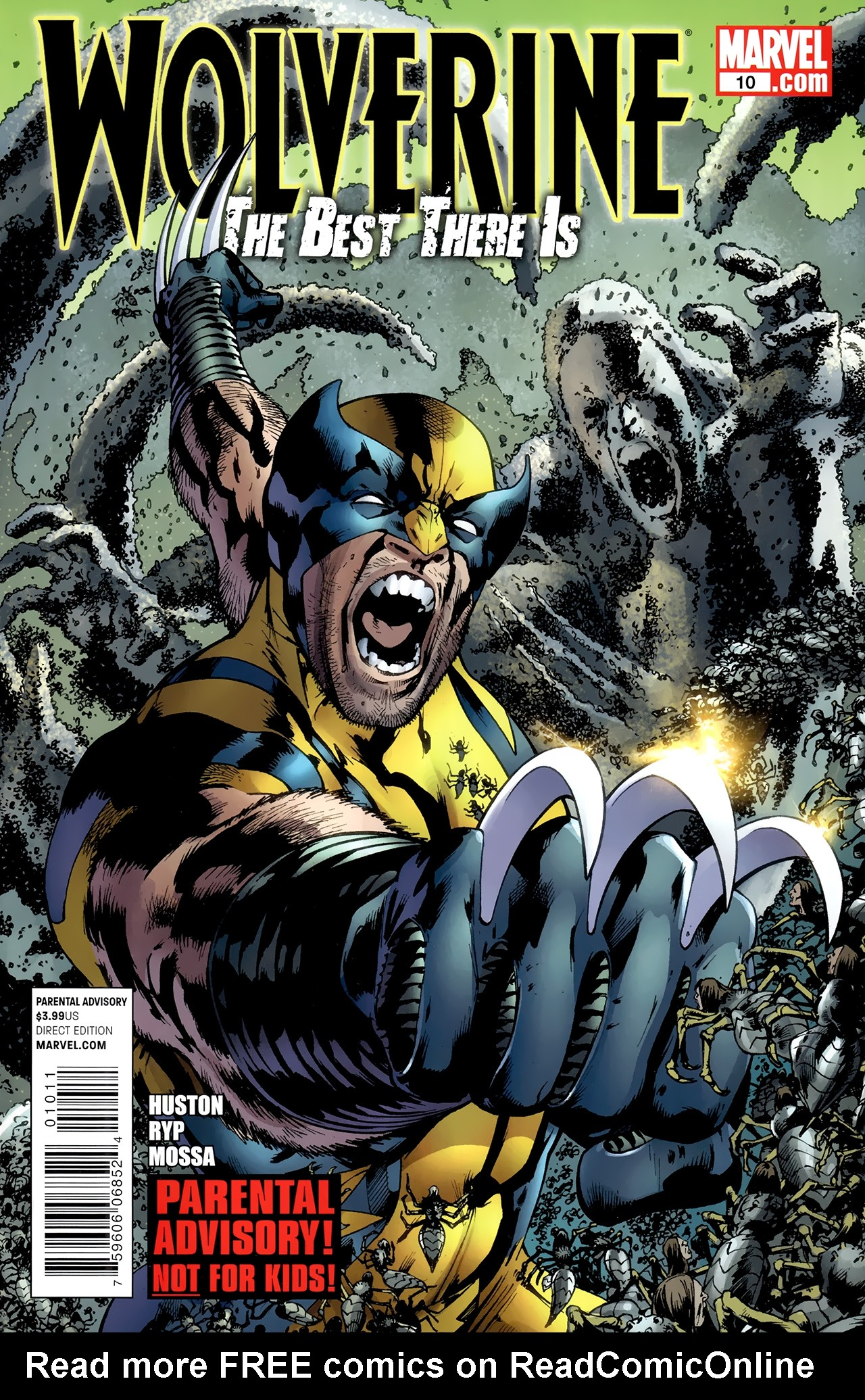 Read online Wolverine: The Best There Is comic -  Issue #10 - 1