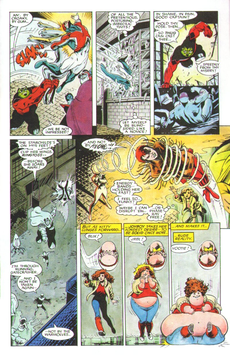 Read online Excalibur: The Sword is Drawn comic -  Issue # Full - 40