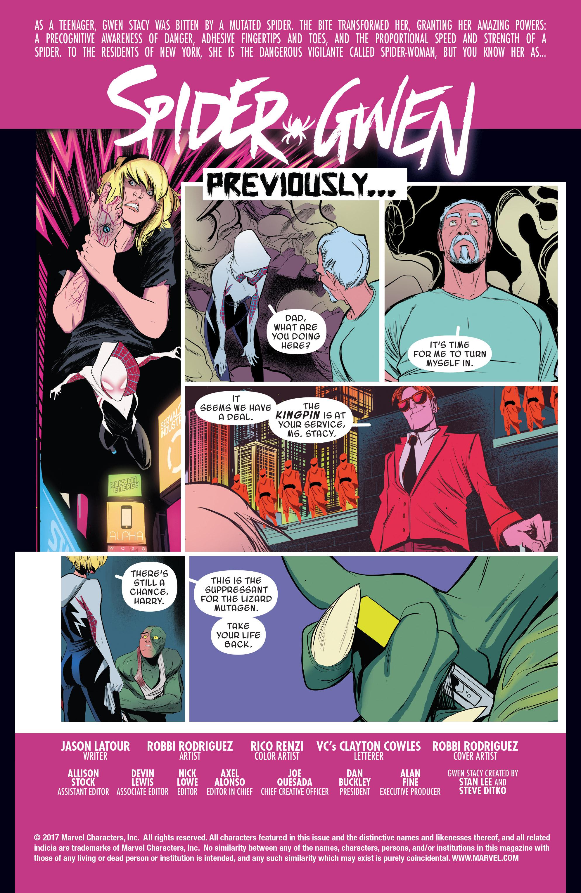 Read online Spider-Gwen [II] comic -  Issue #19 - 2