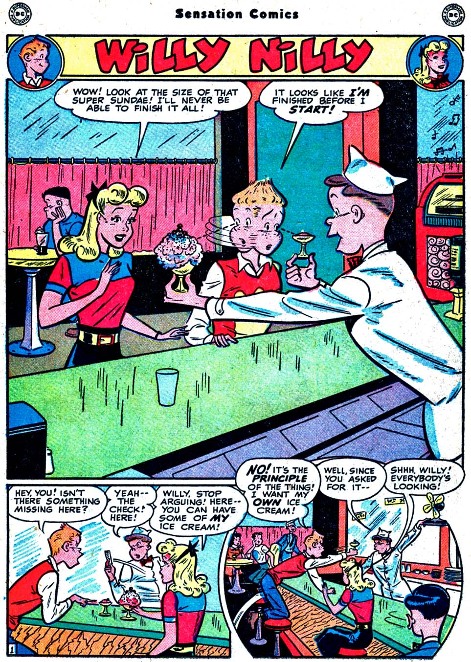 Read online Sensation (Mystery) Comics comic -  Issue #91 - 27