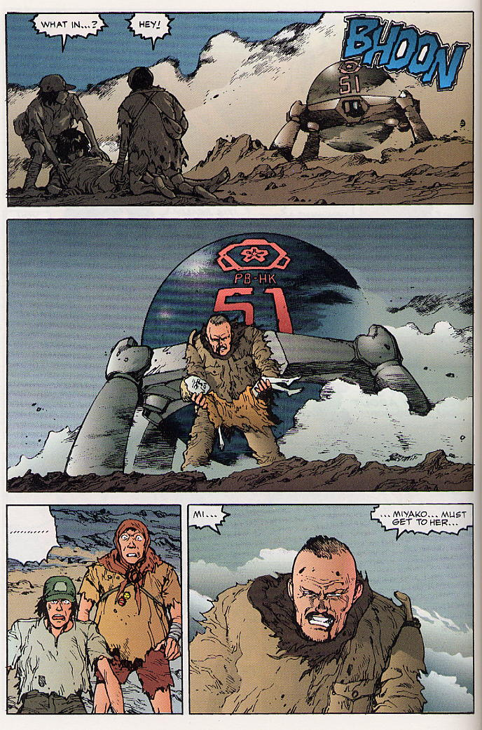 Read online Akira comic -  Issue #24 - 24