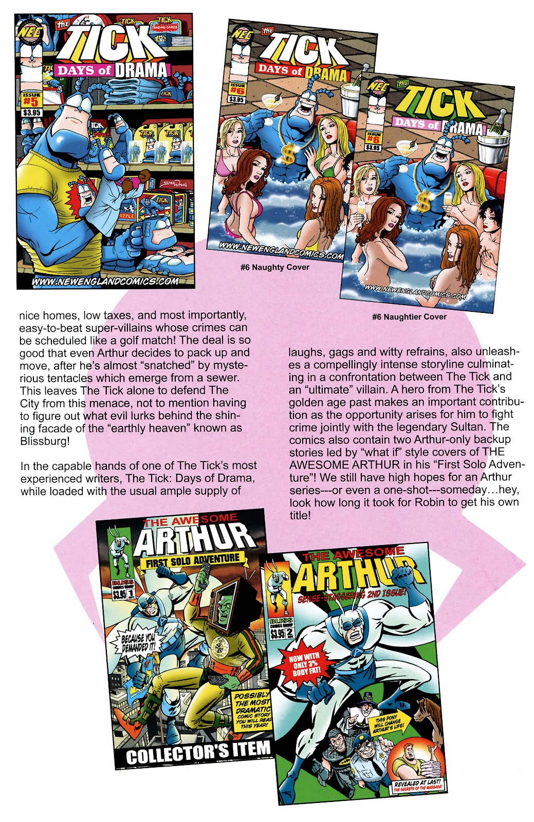 Read online The Tick comic -  Issue #101 - 40