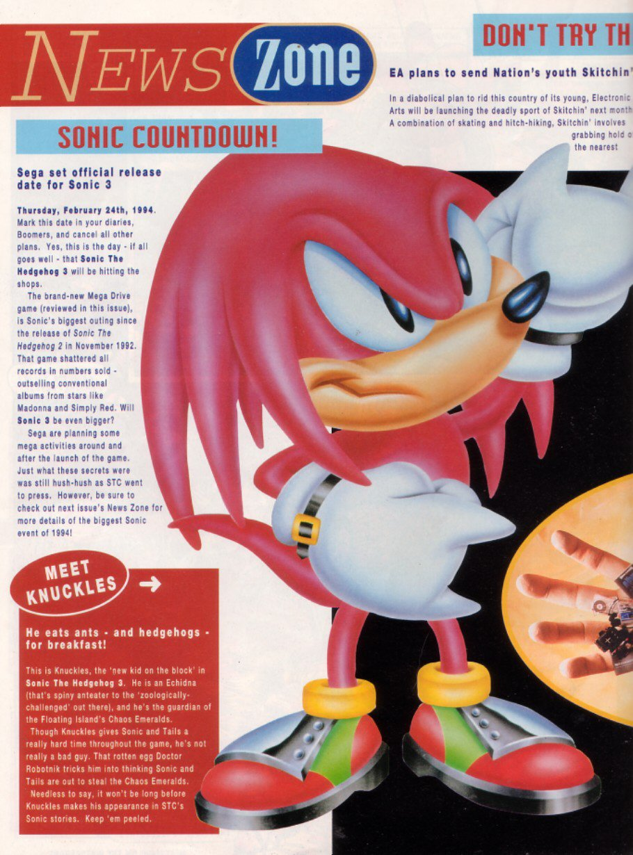 Comic Sonic the Comic issue 19