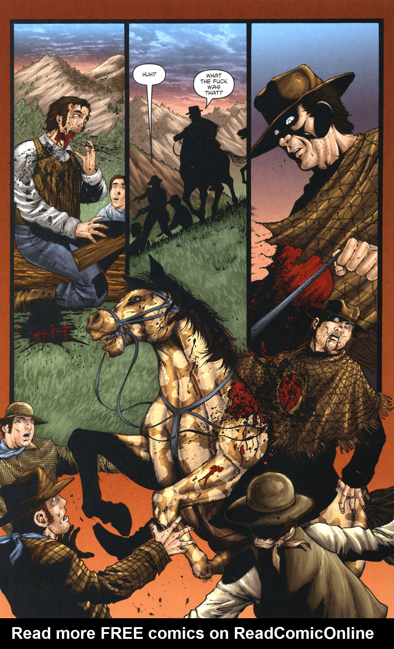 Read online Garth Ennis' Streets of Glory comic -  Issue #1 - 12