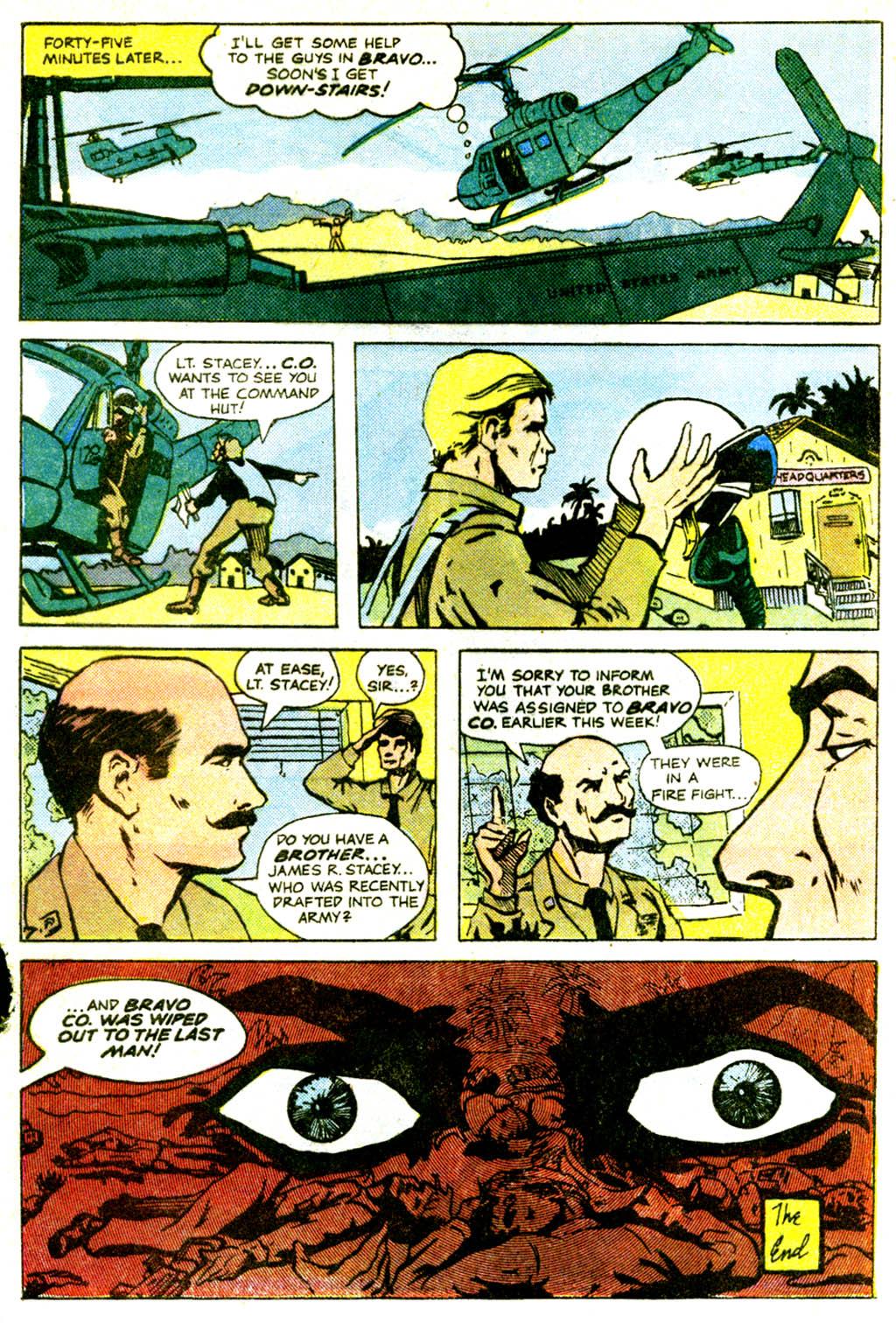 Read online Sgt. Rock comic -  Issue #362 - 31