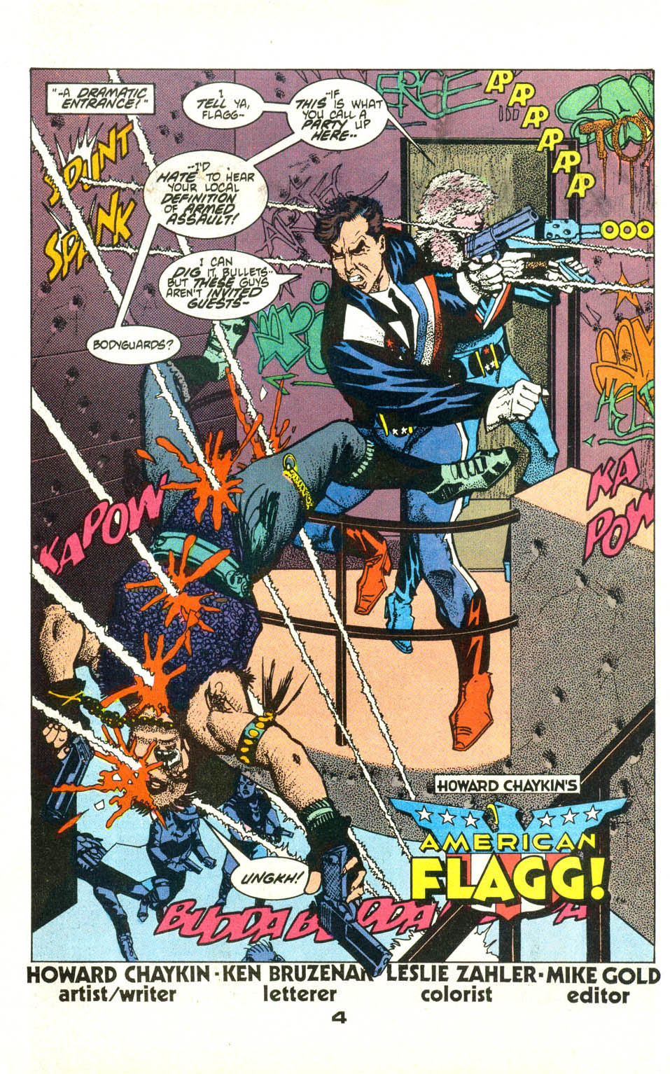 Read online American Flagg! comic -  Issue #21 - 6