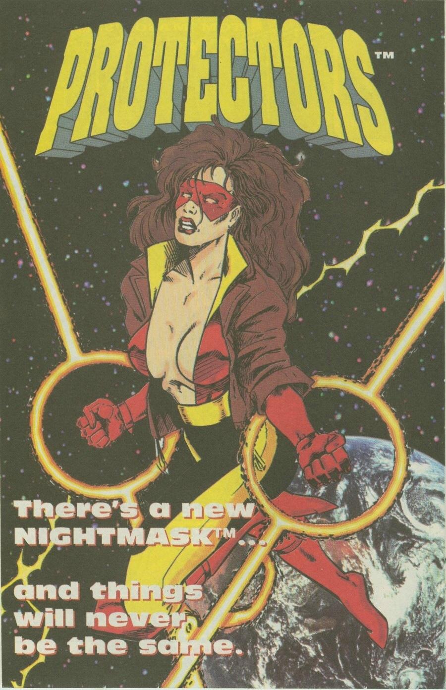 Read online Ex-Mutants comic -  Issue #8 - 21