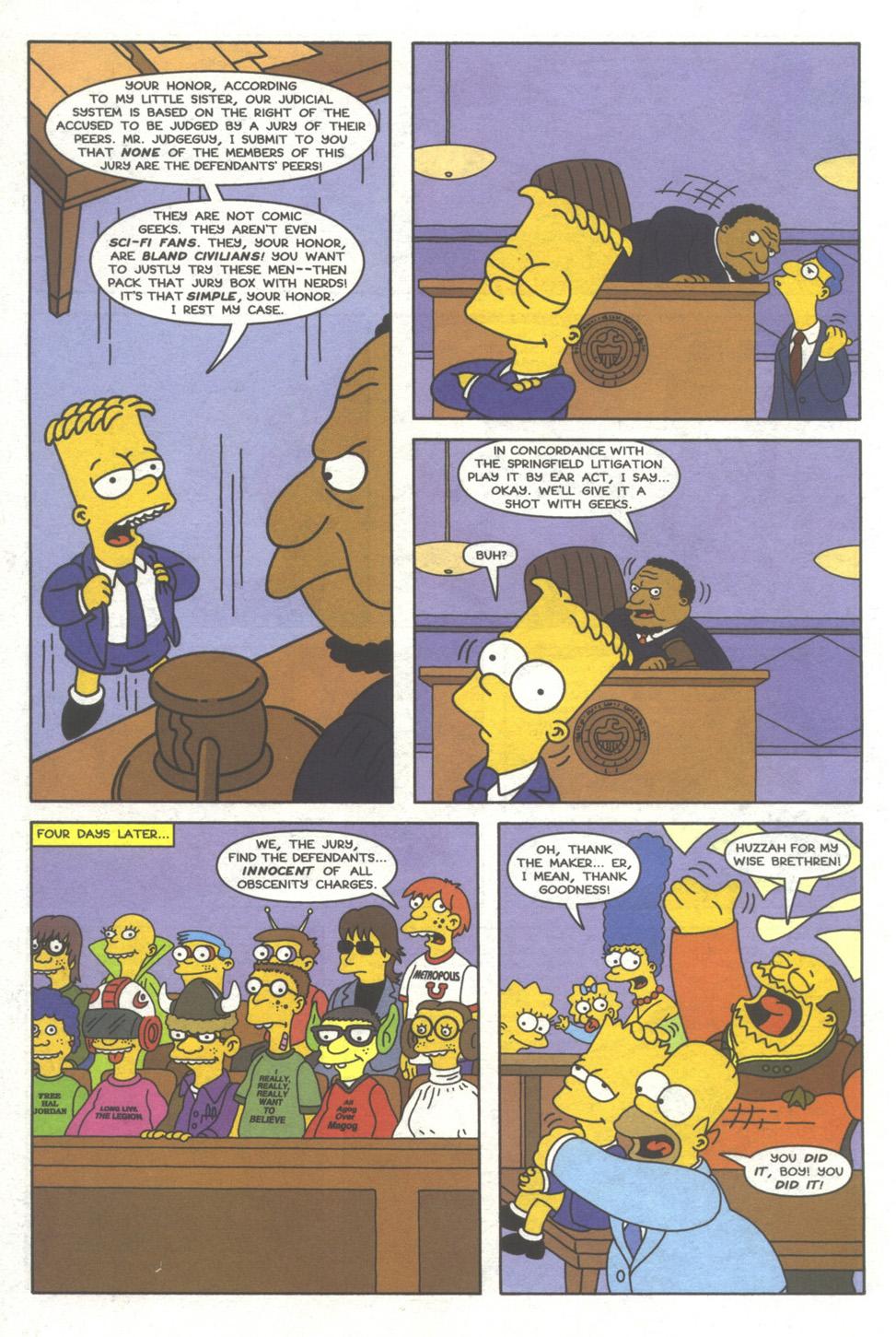 Read online Simpsons Comics comic -  Issue #39 - 21