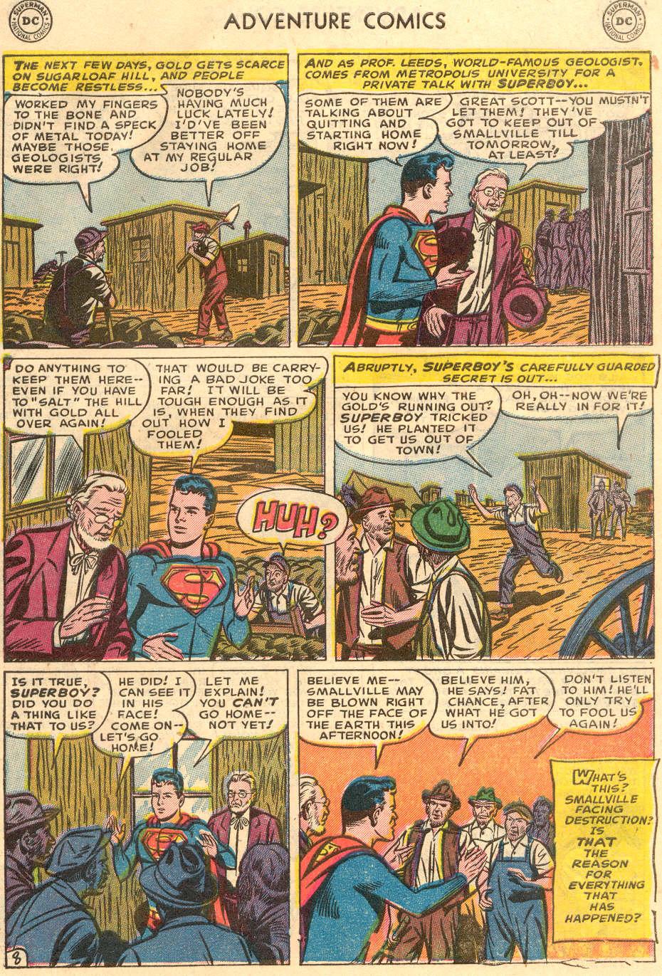 Read online Adventure Comics (1938) comic -  Issue #186 - 10