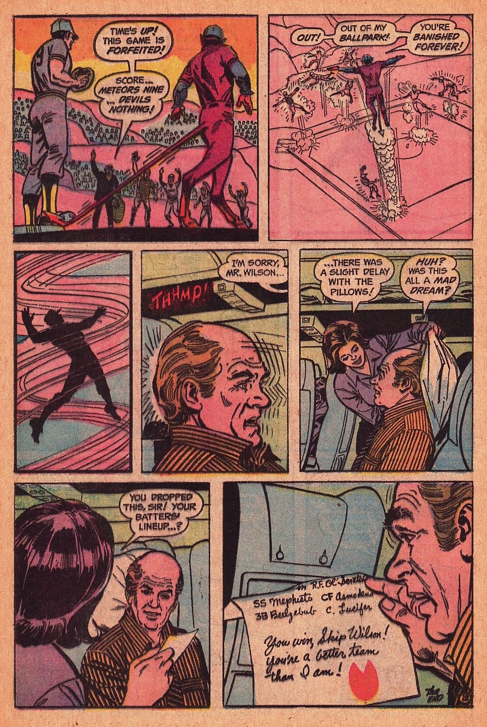 Read online Strange Sports Stories (1973) comic -  Issue #1 - 13