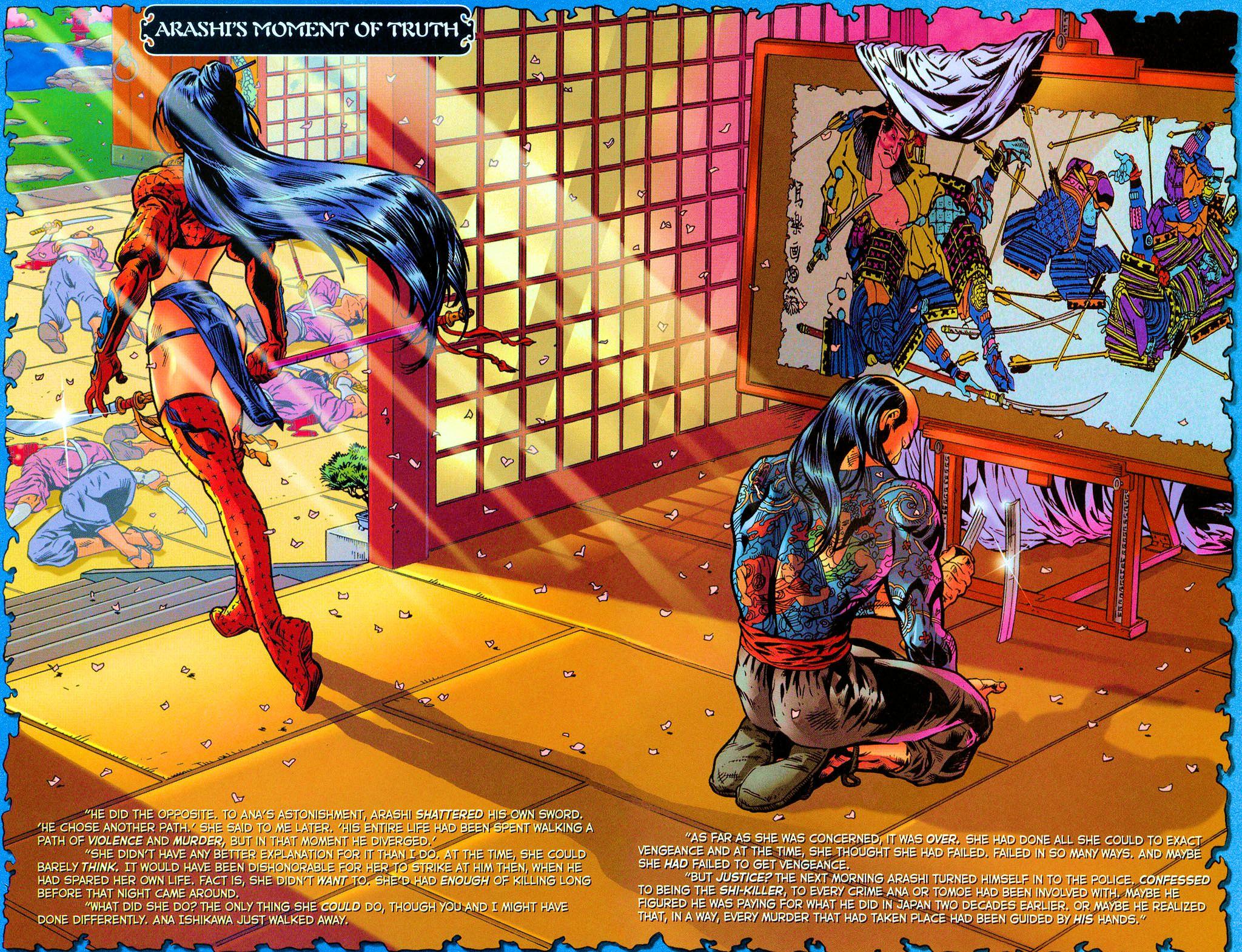 Read online Shi: Rekishi comic -  Issue #2 - 21