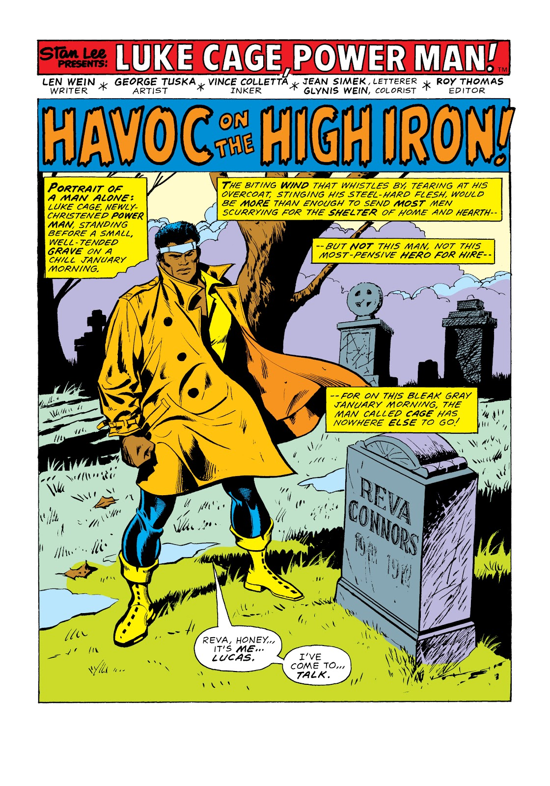 Read online Marvel Masterworks: Luke Cage, Power Man comic -  Issue # TPB 2 (Part 1) - 30