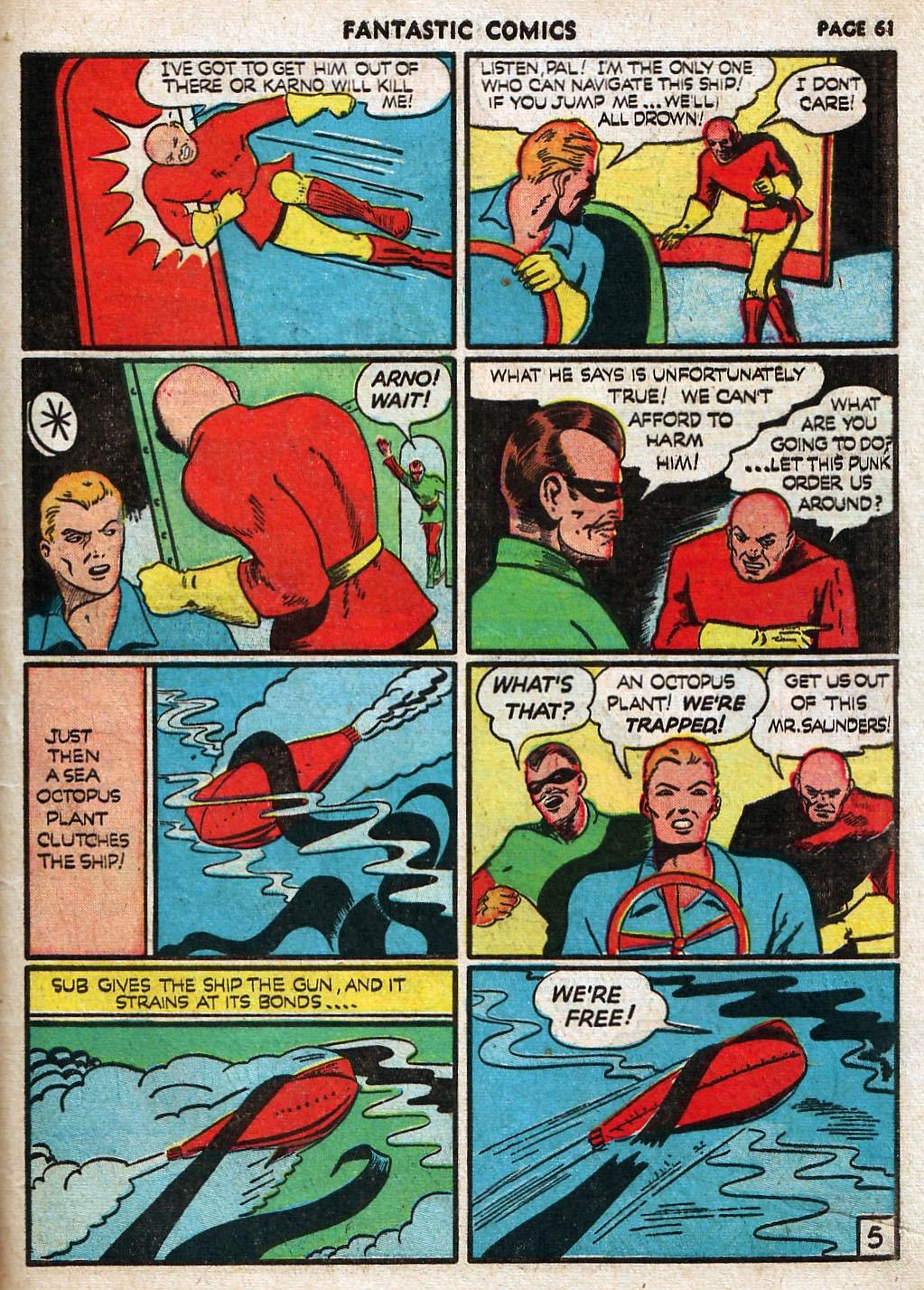 Read online Fantastic Comics comic -  Issue #17 - 62