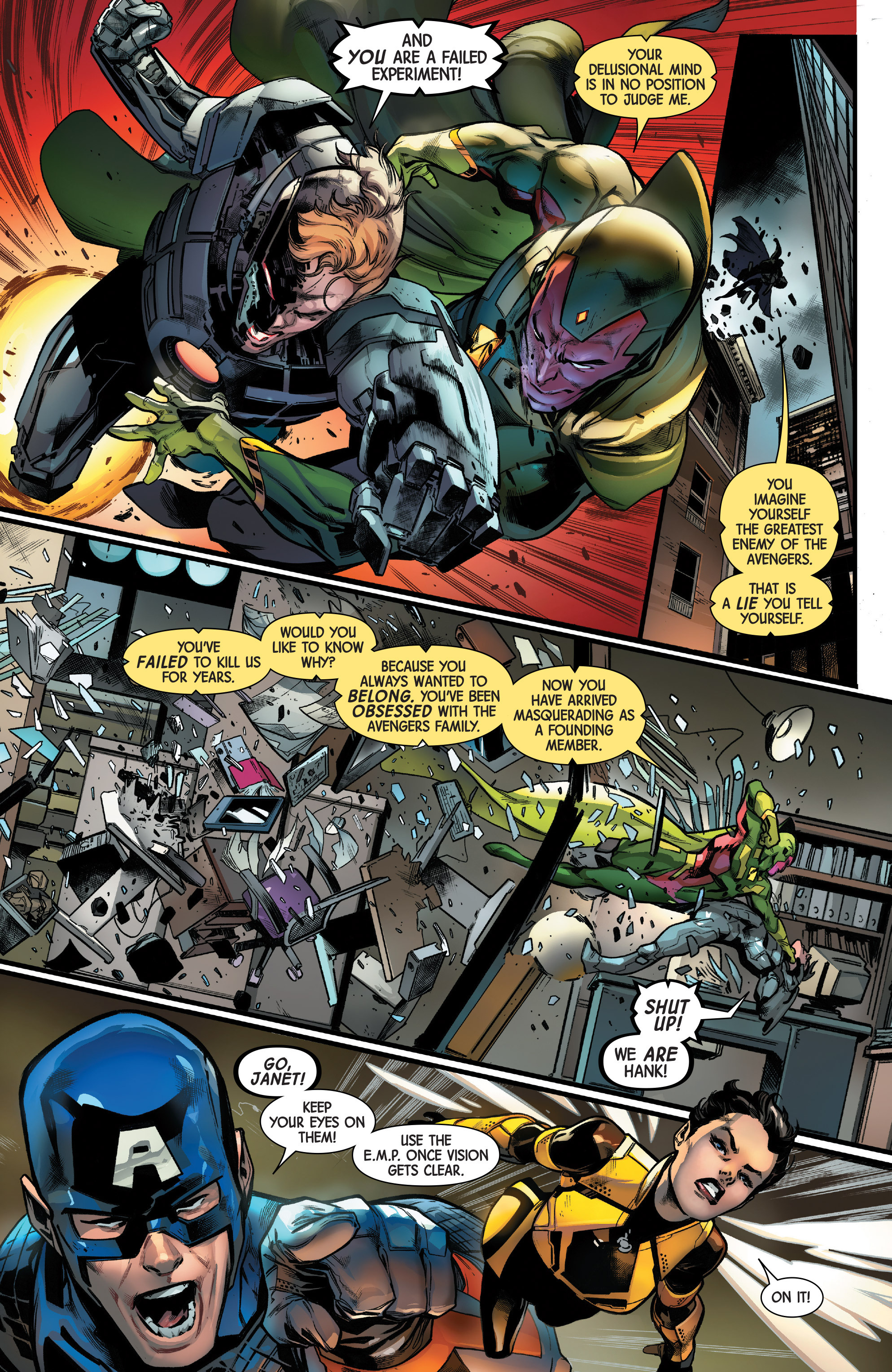 Read online Uncanny Avengers [II] comic -  Issue #11 - 7