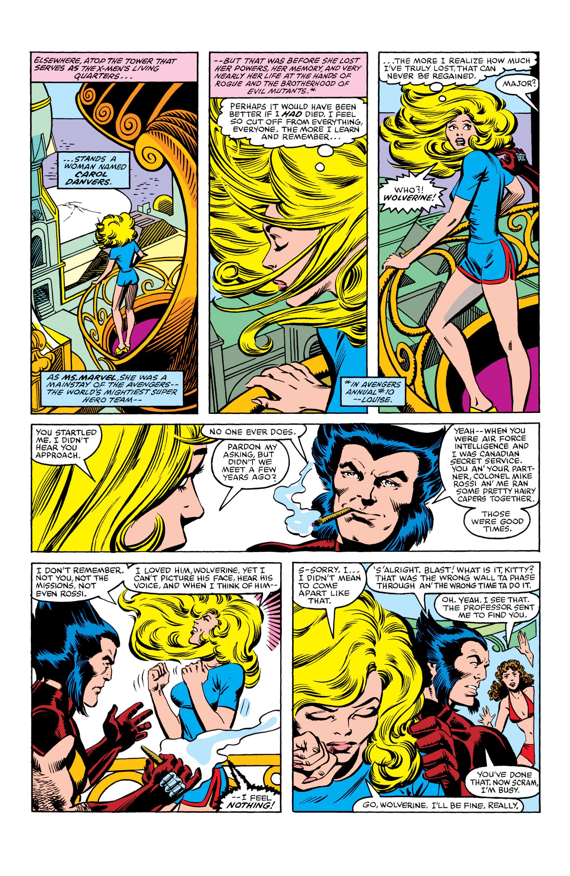 Read online Uncanny X-Men (1963) comic -  Issue #154 - 7