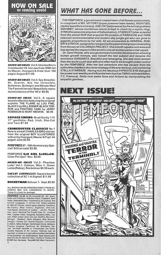 Femforce 88 Page 2