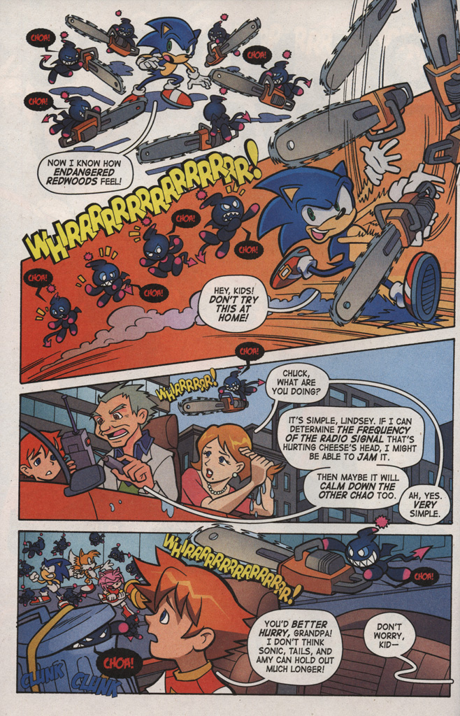 Read online Sonic X comic -  Issue #6 - 20
