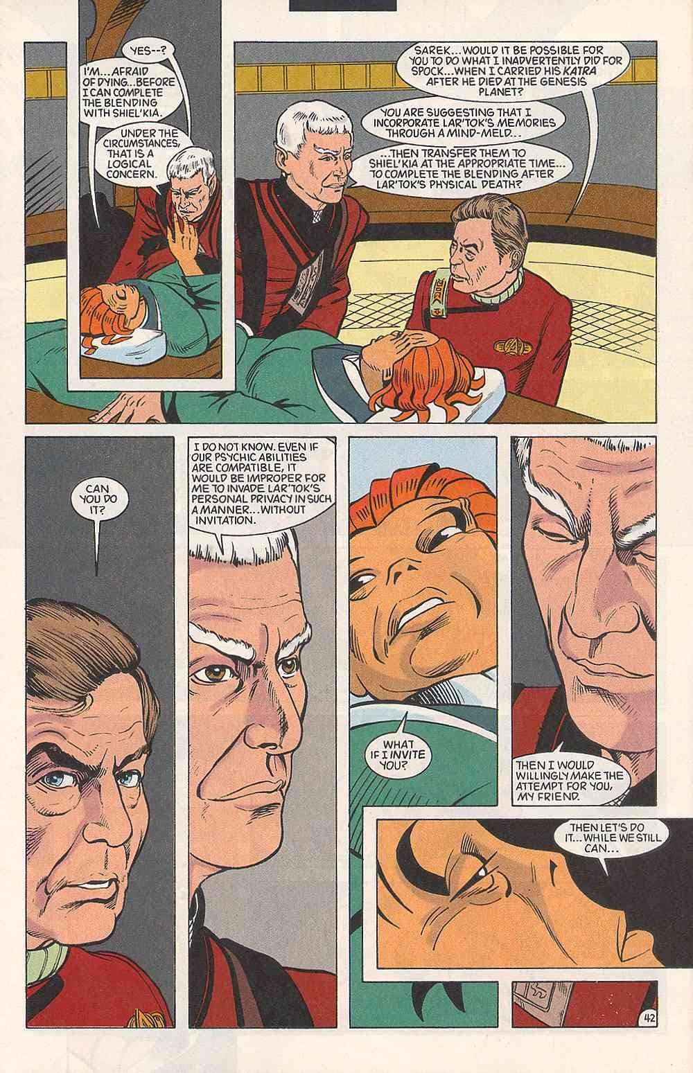 Read online Star Trek (1989) comic -  Issue # Annual 3 - 46