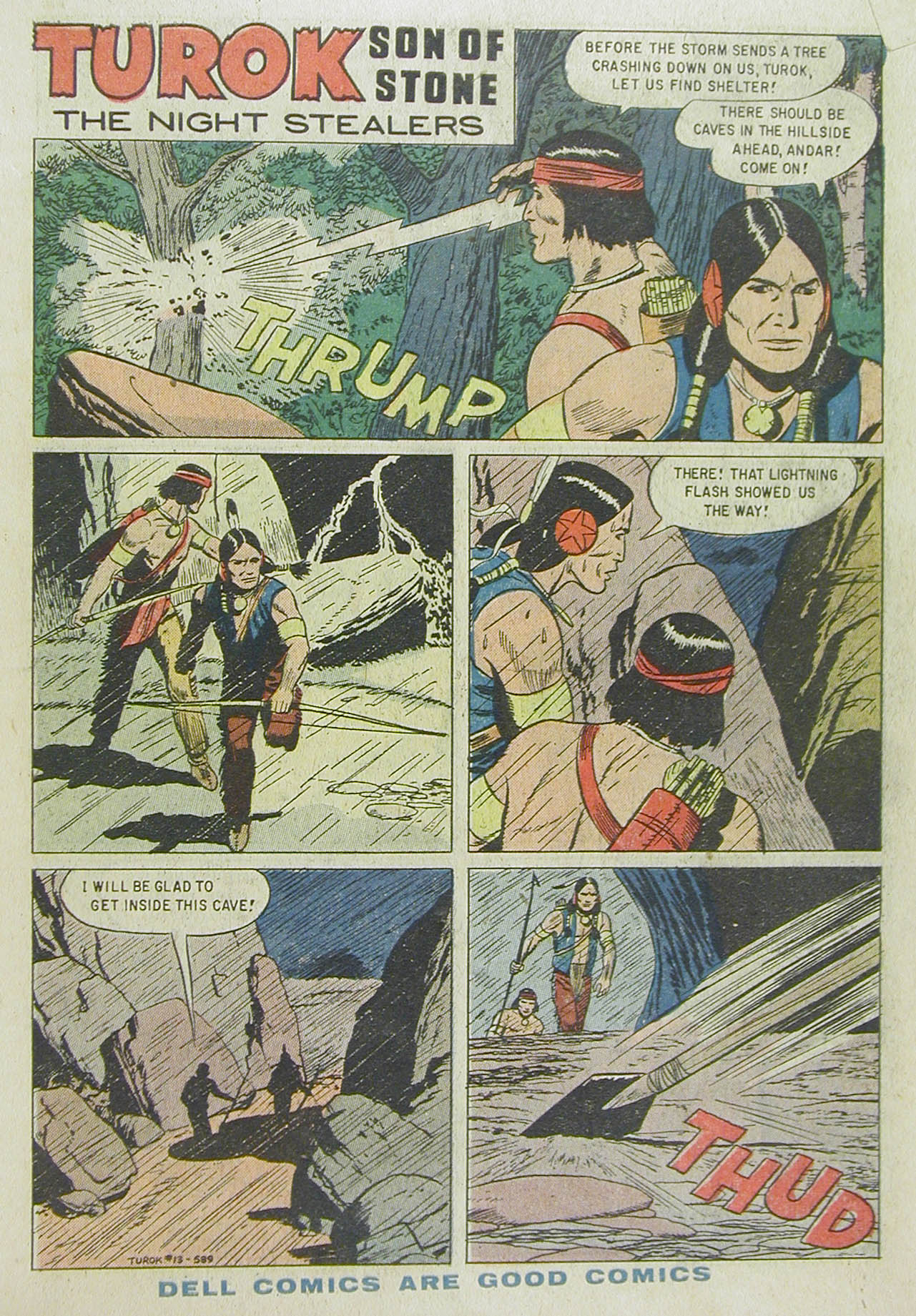 Read online Turok, Son of Stone comic -  Issue #13 - 3