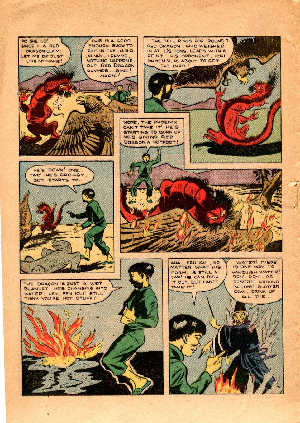 Read online Super-Magician Comics comic -  Issue #34 - 20