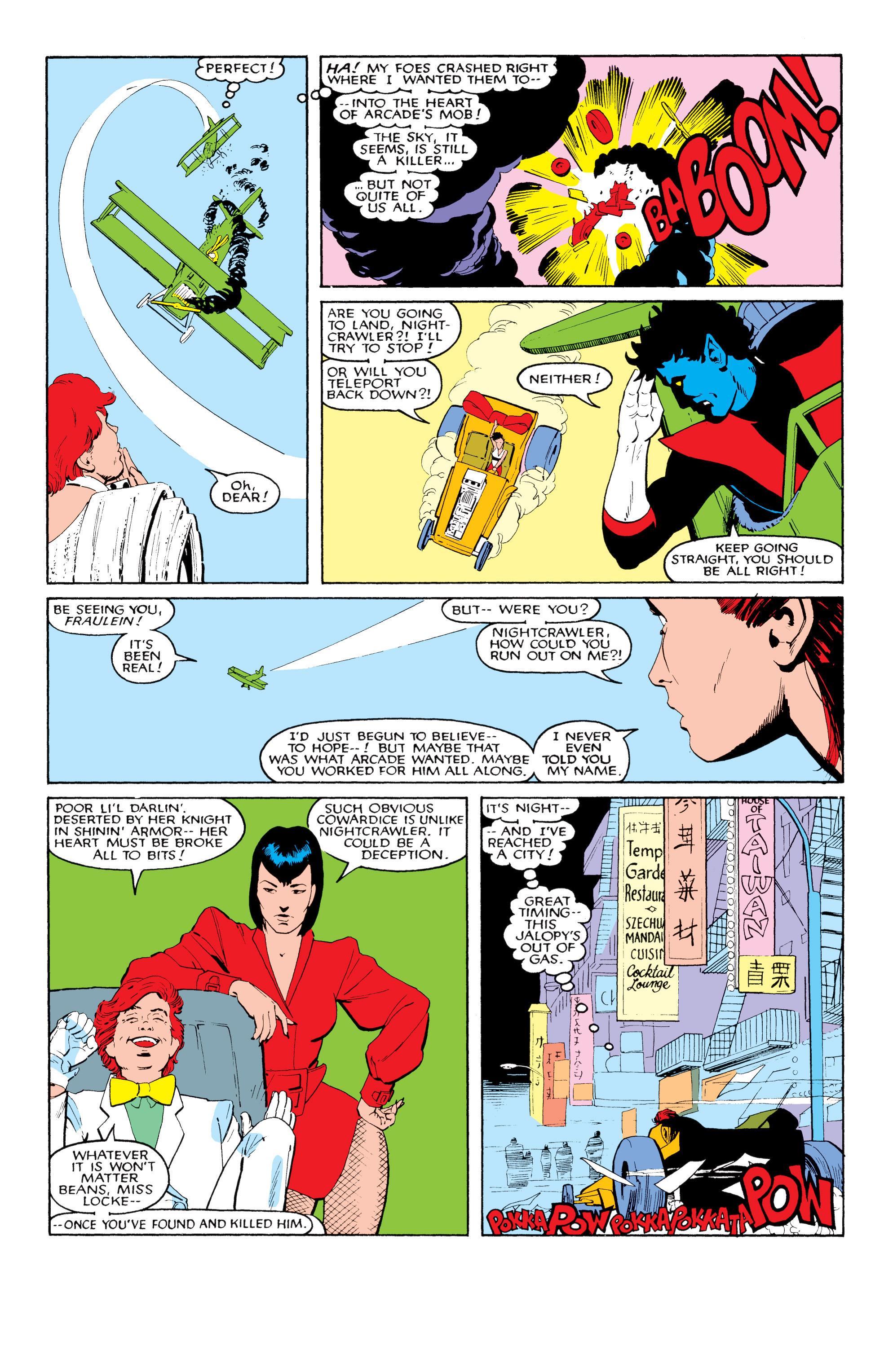 Read online Uncanny X-Men (1963) comic -  Issue #204 - 20