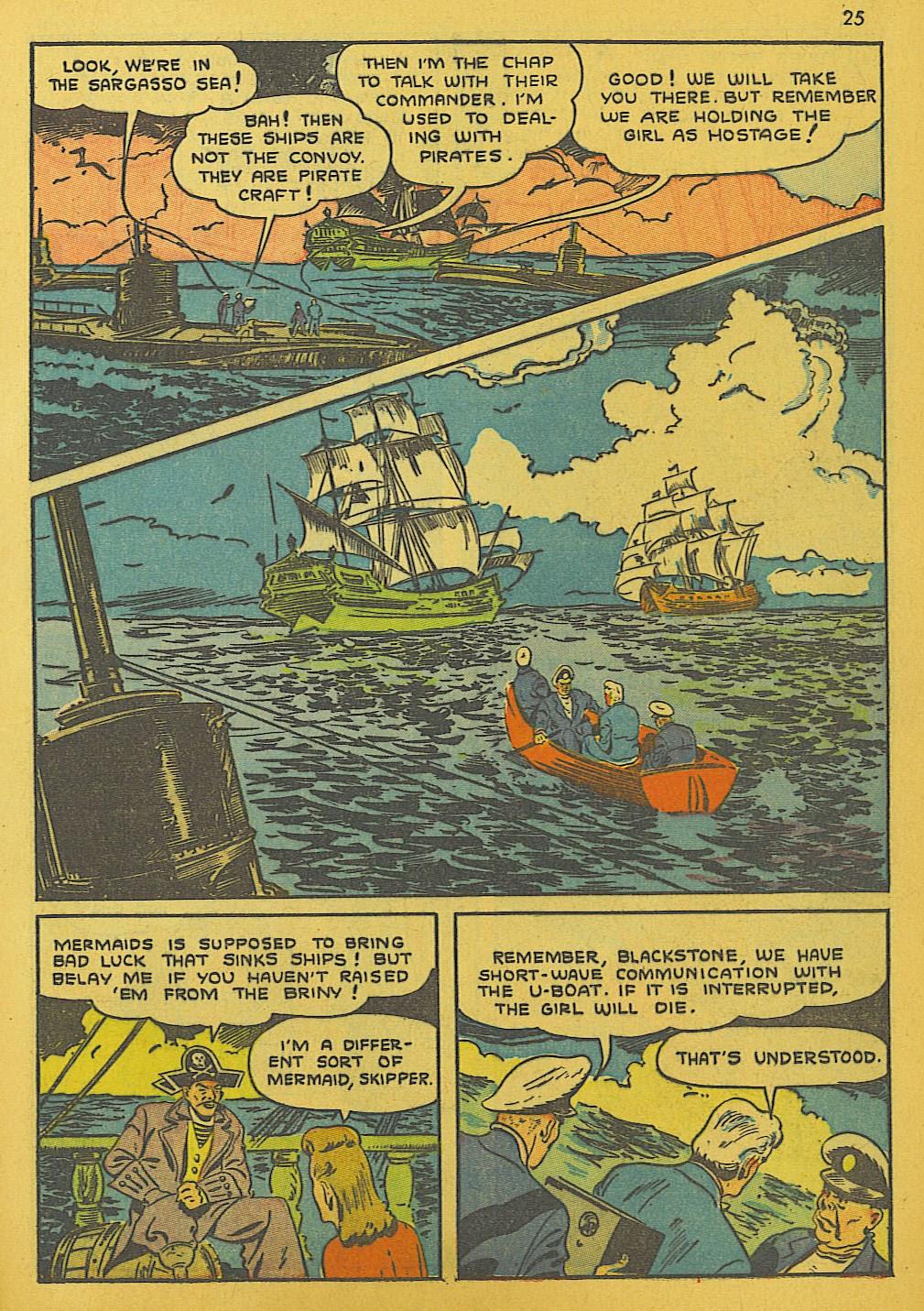 Read online Super-Magician Comics comic -  Issue #10 - 25