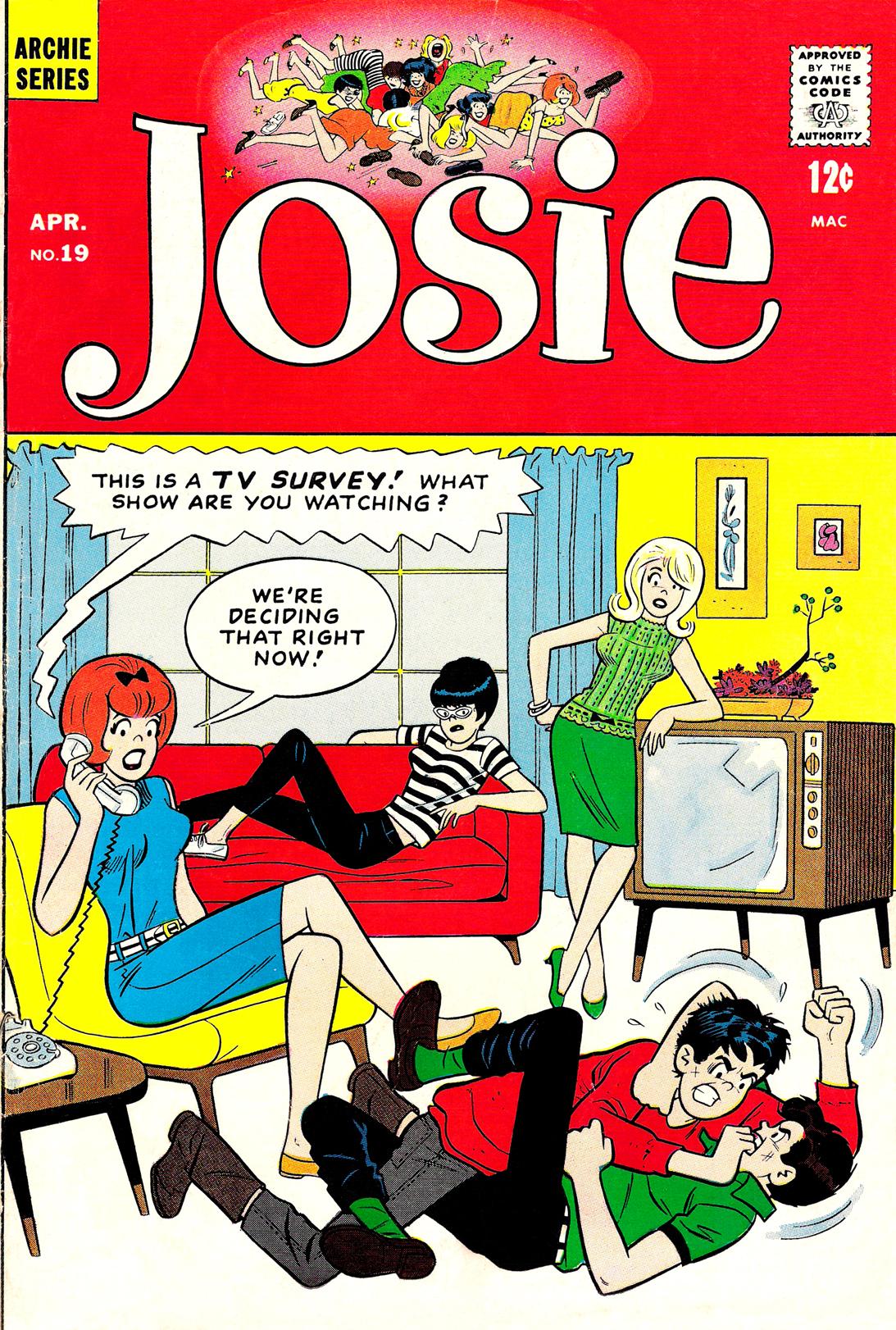 Read online She's Josie comic -  Issue #19 - 1