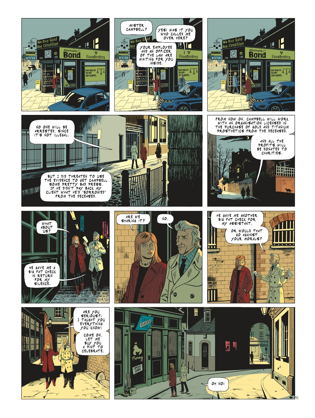 Read online Maggy Garrisson comic -  Issue #3 - 47