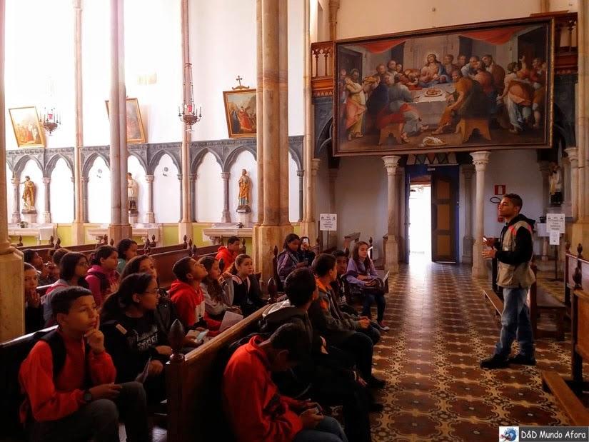 Santuário do Caraça - igreja neogótica de Nossa Senhora Mãe dos Homens