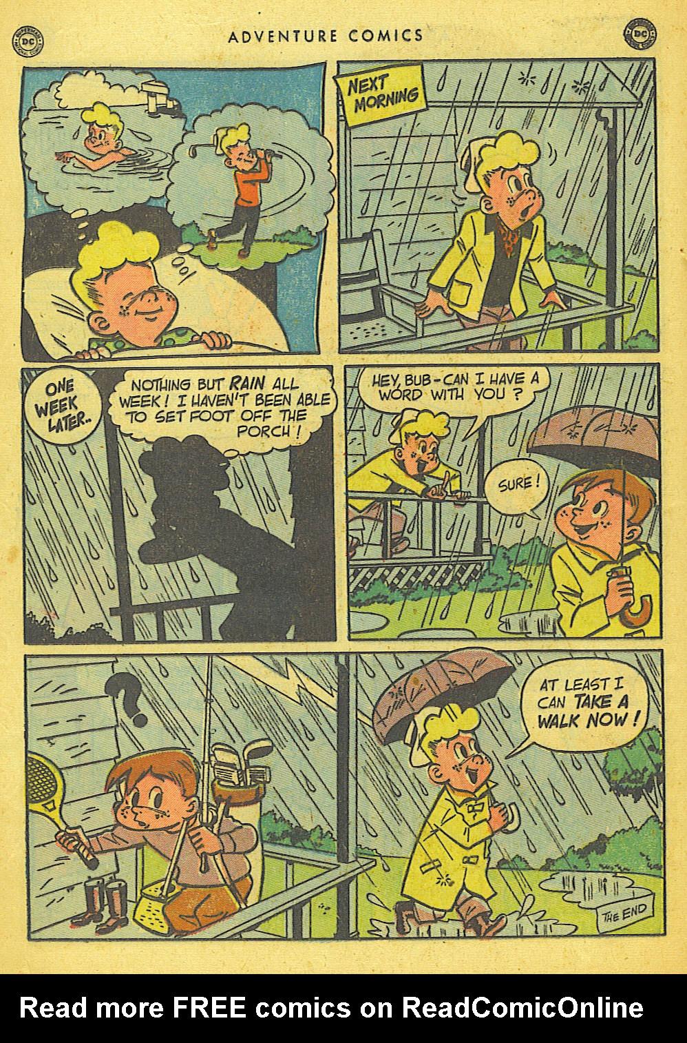 Read online Adventure Comics (1938) comic -  Issue #155 - 36
