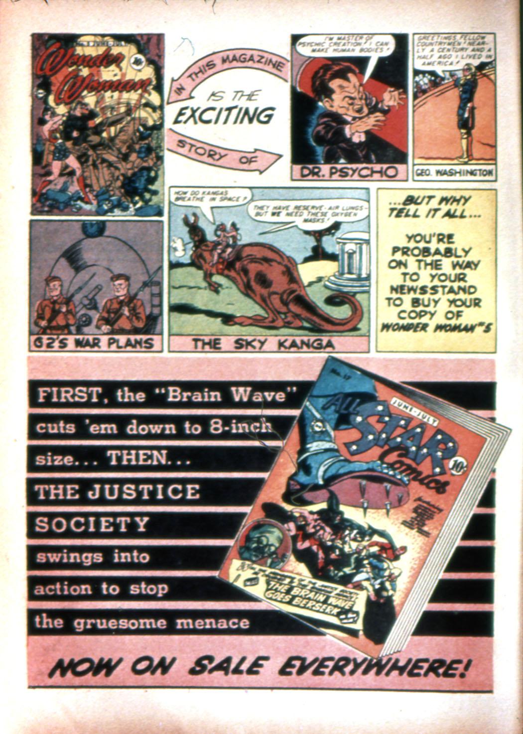 Read online Sensation (Mystery) Comics comic -  Issue #20 - 16