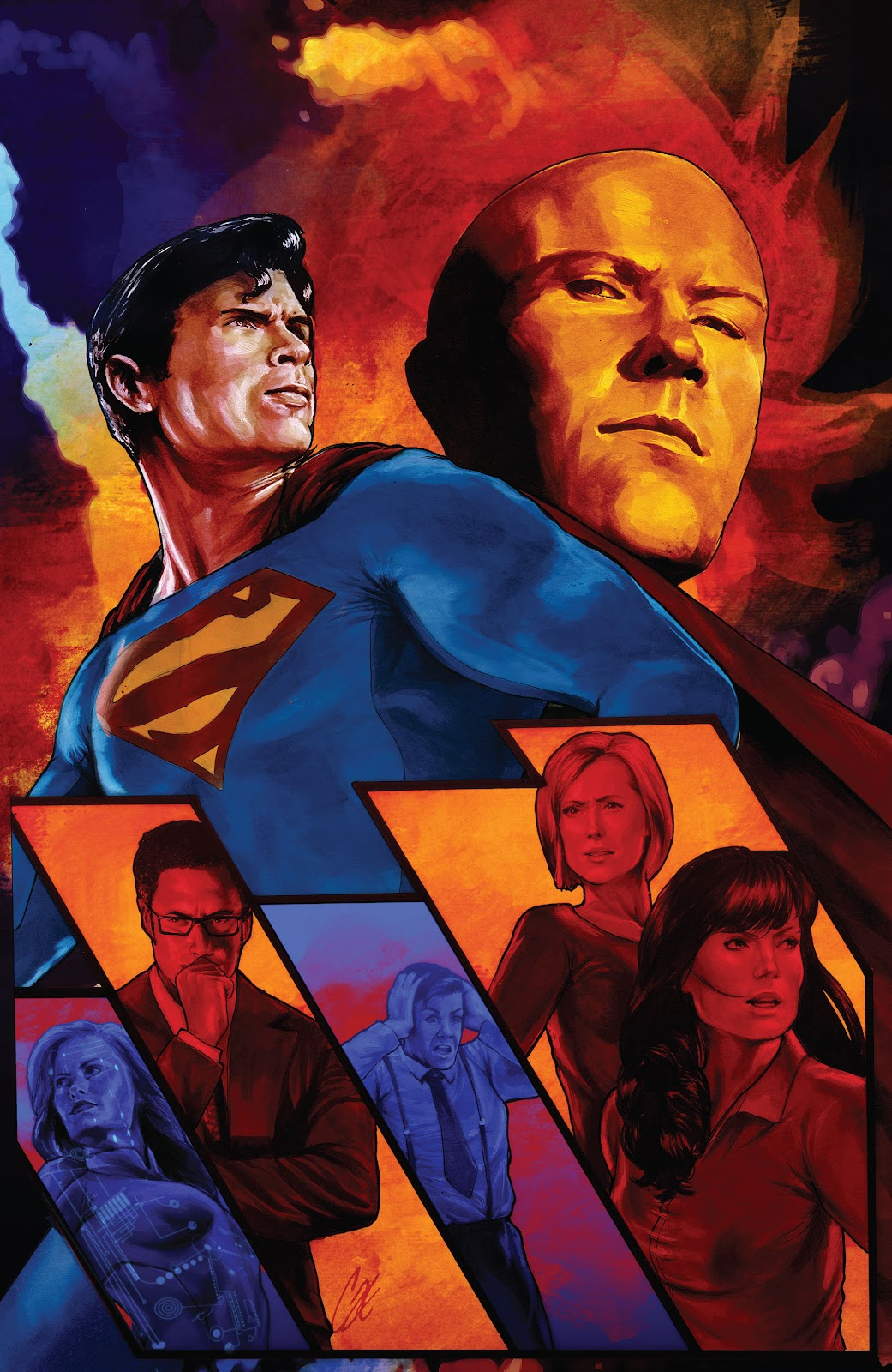 Read online Smallville Season 11 [II] comic -  Issue # TPB 9 - 37