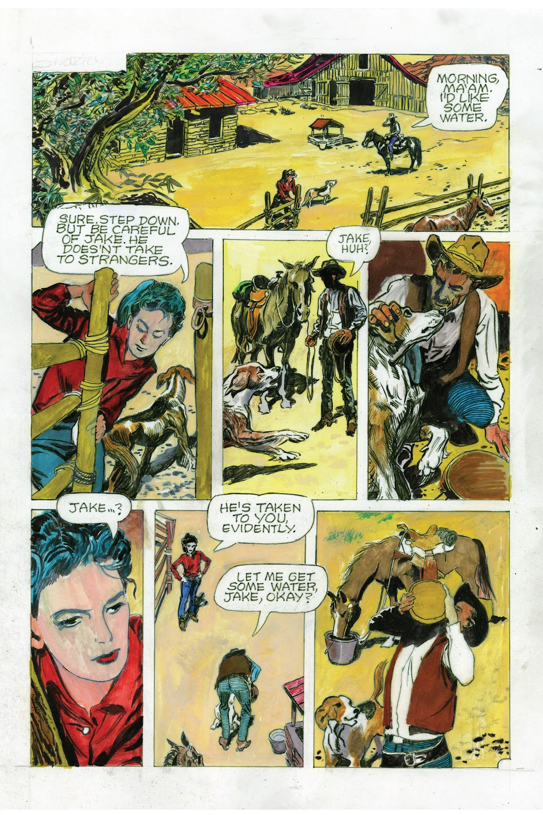 Read online Doug Wildey's Rio: The Complete Saga comic -  Issue # TPB (Part 3) - 37