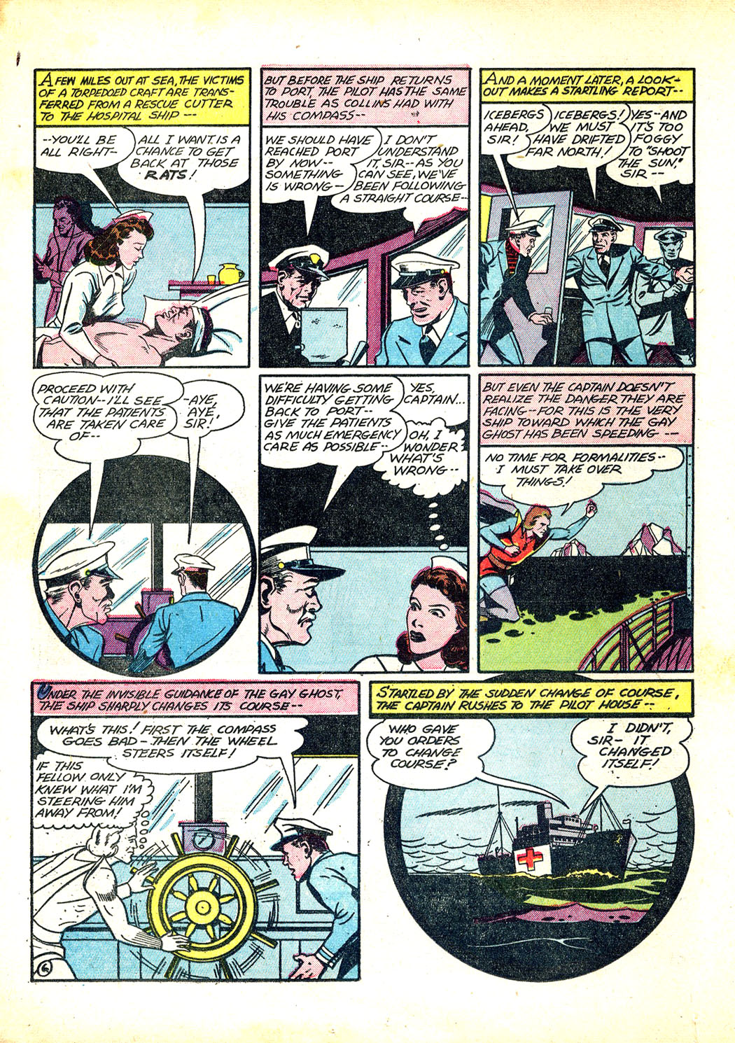 Read online Sensation (Mystery) Comics comic -  Issue #12 - 30