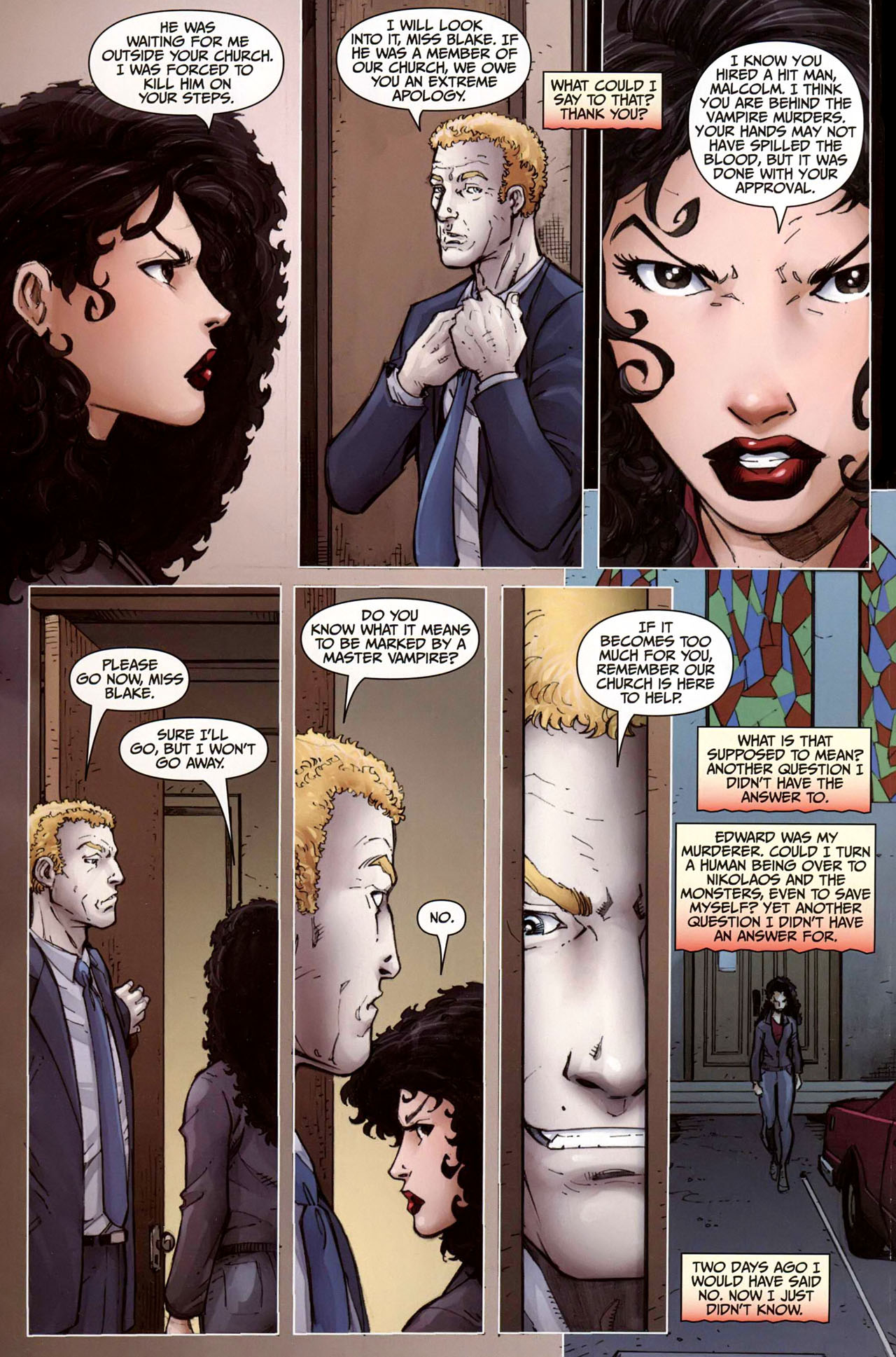 Read online Anita Blake, Vampire Hunter: Guilty Pleasures comic -  Issue #9 - 12