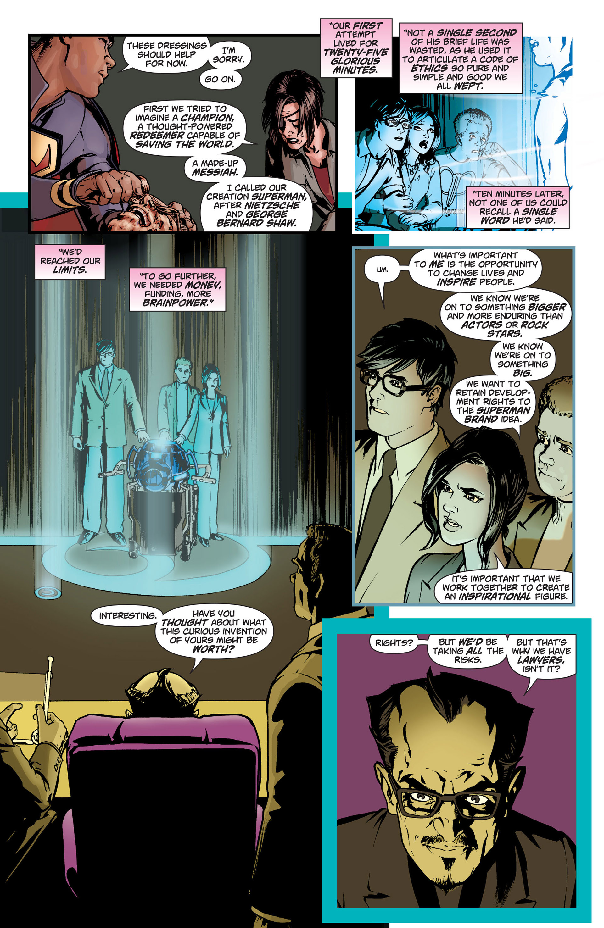 Read online Action Comics (2011) comic -  Issue #9 - 12