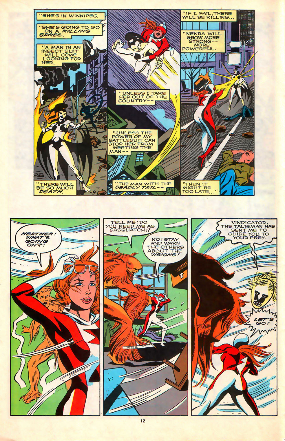 Read online Alpha Flight (1983) comic -  Issue #79 - 11
