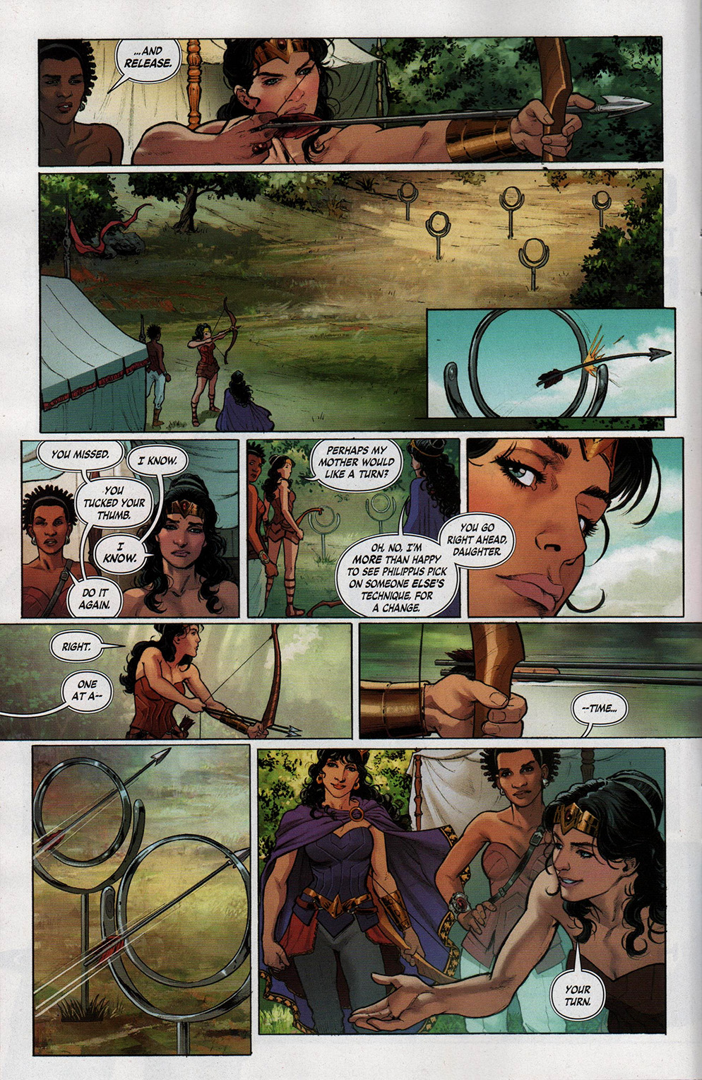 Read online Free Comic Book Day 2017 comic -  Issue # Wonder Woman 1 - 7