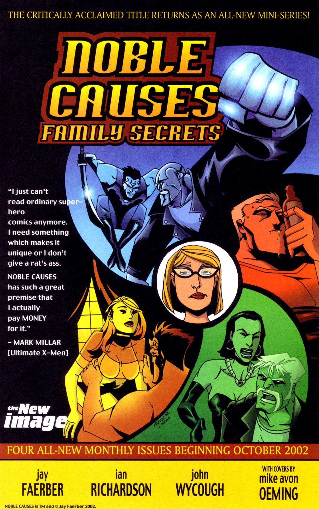 Read online Noble Causes (2002) comic -  Issue #4 - 28