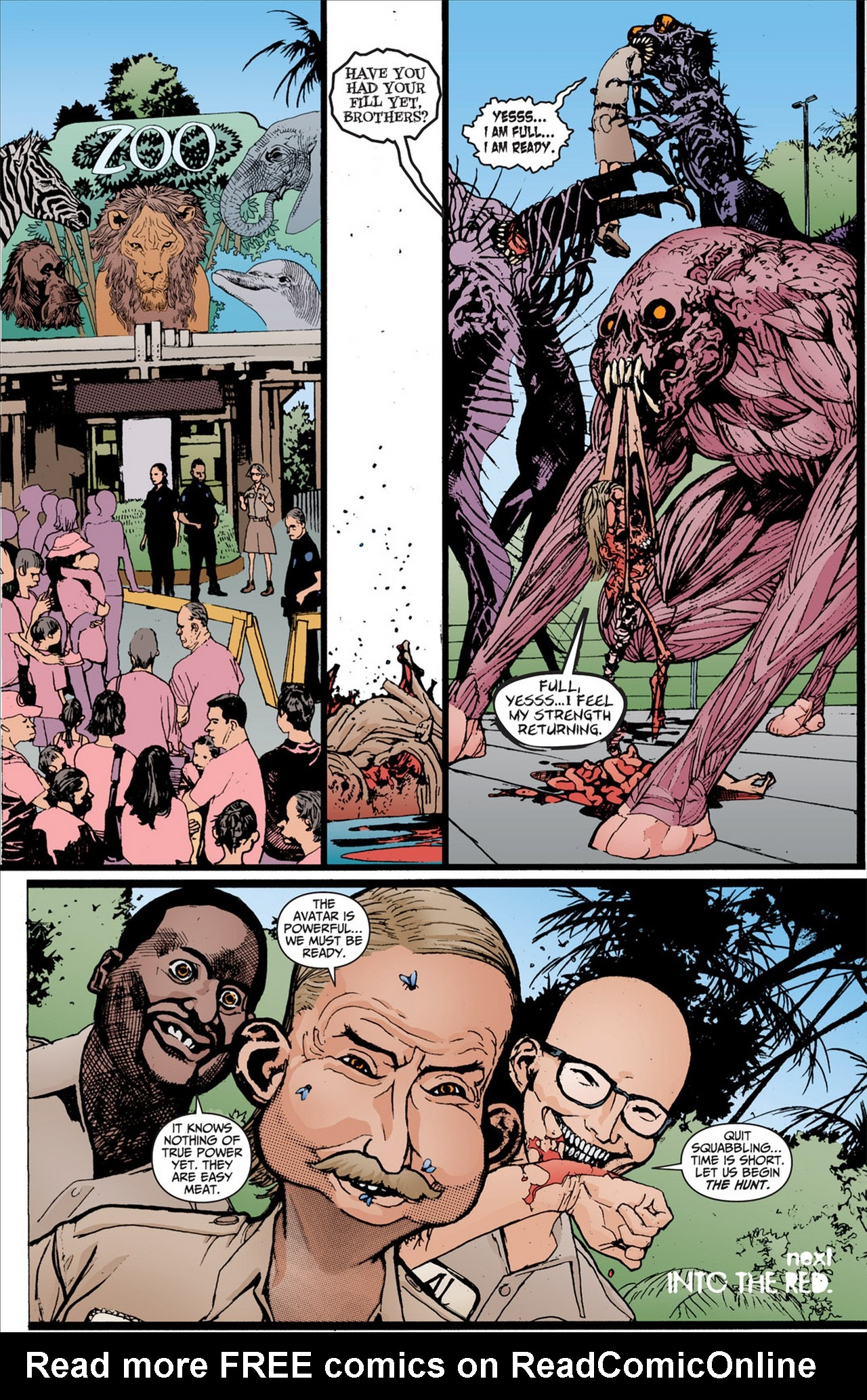 Read online Animal Man (2011) comic -  Issue #2 - 20