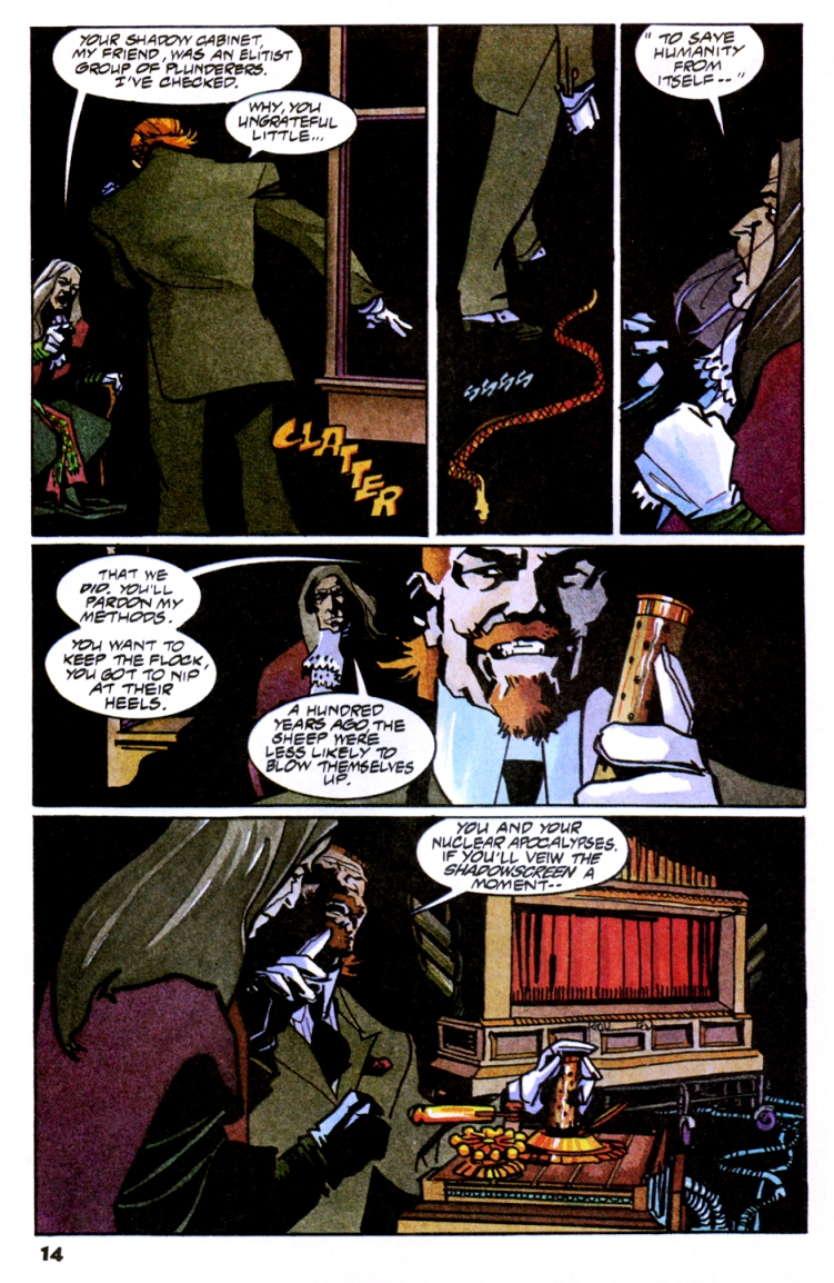 Read online Shadow Cabinet comic -  Issue #10 - 16