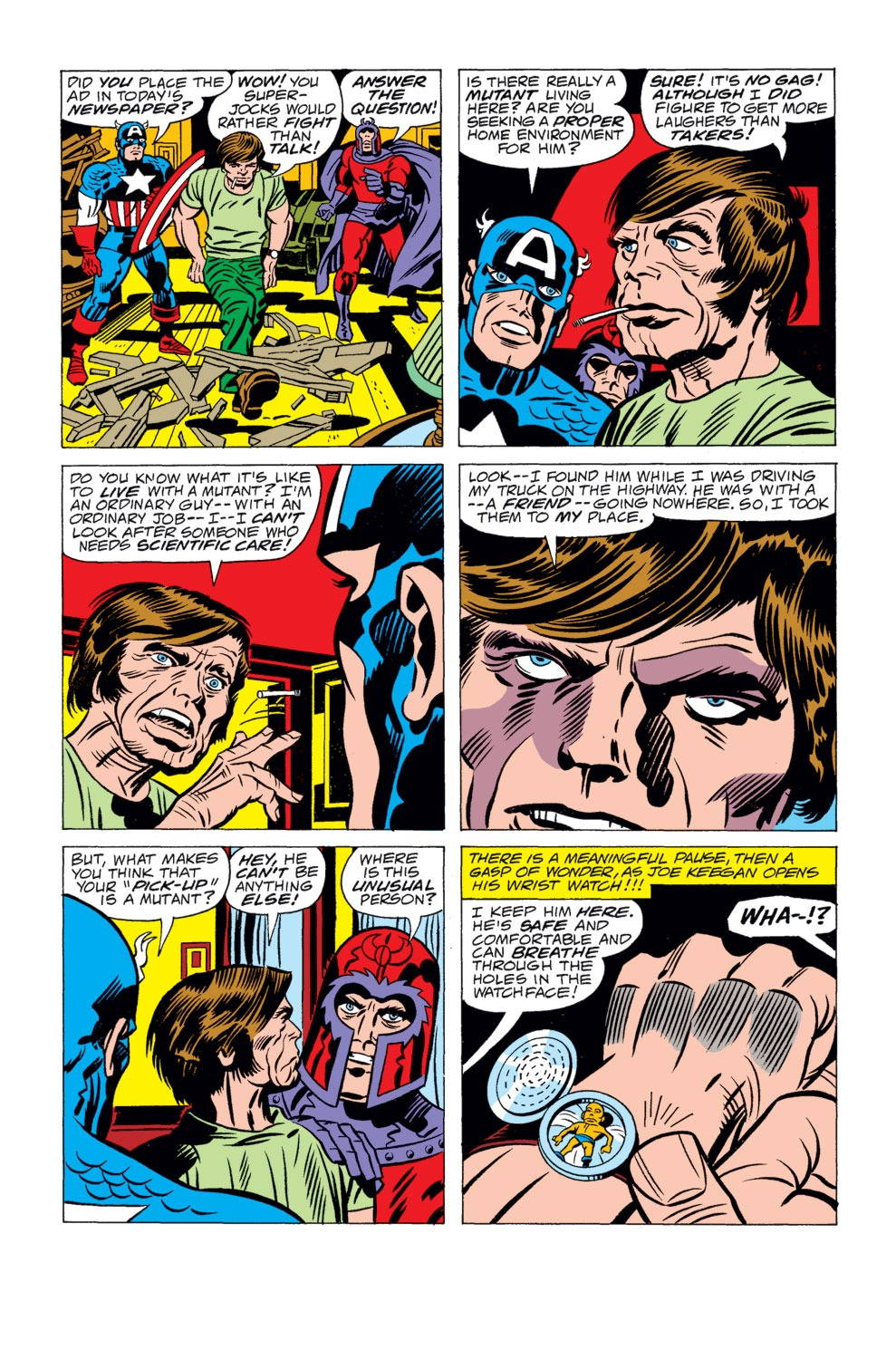 Read online Captain America (1968) comic -  Issue # _Annual 4 - 5