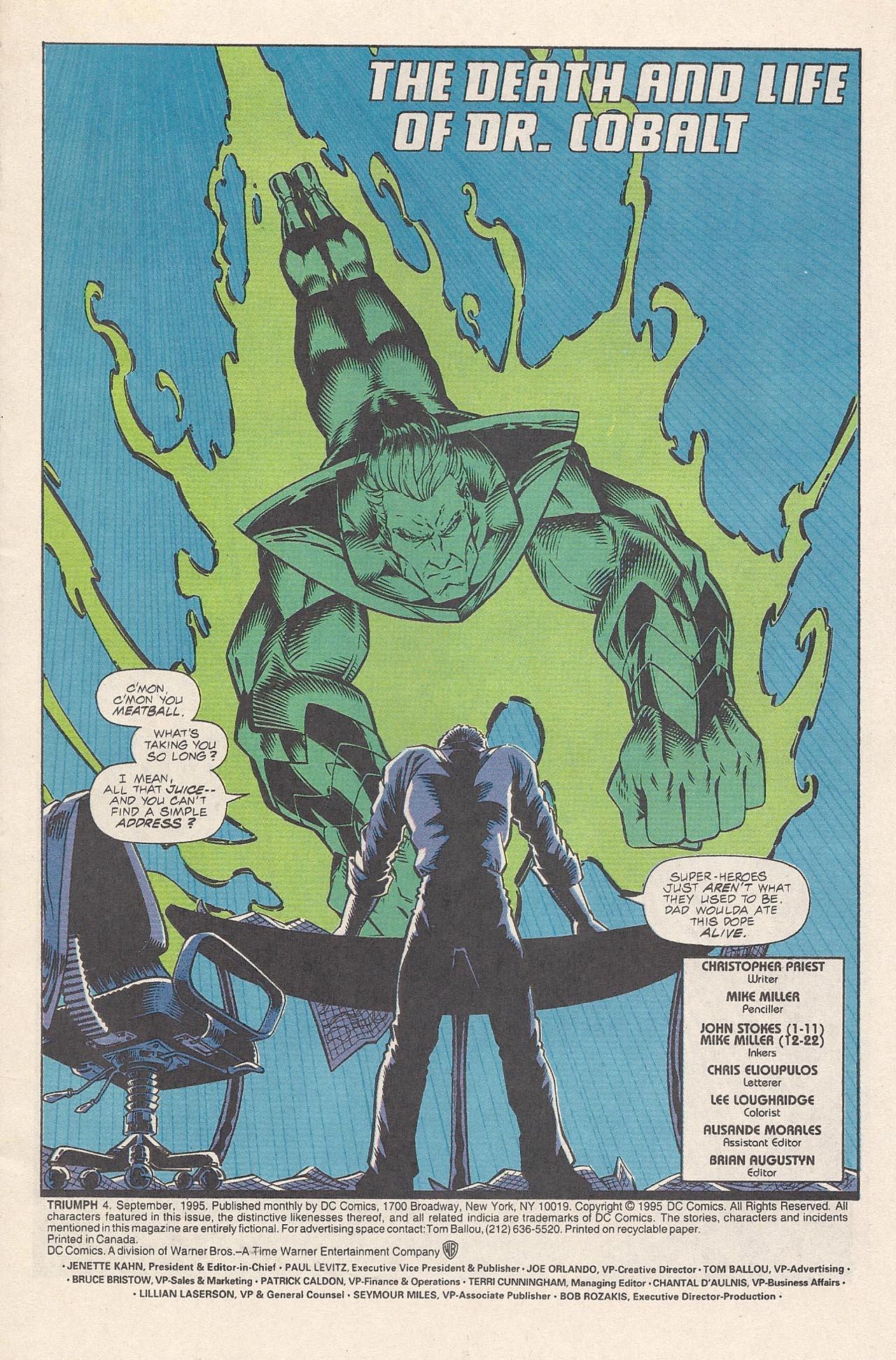 Read online Triumph comic -  Issue #4 - 3